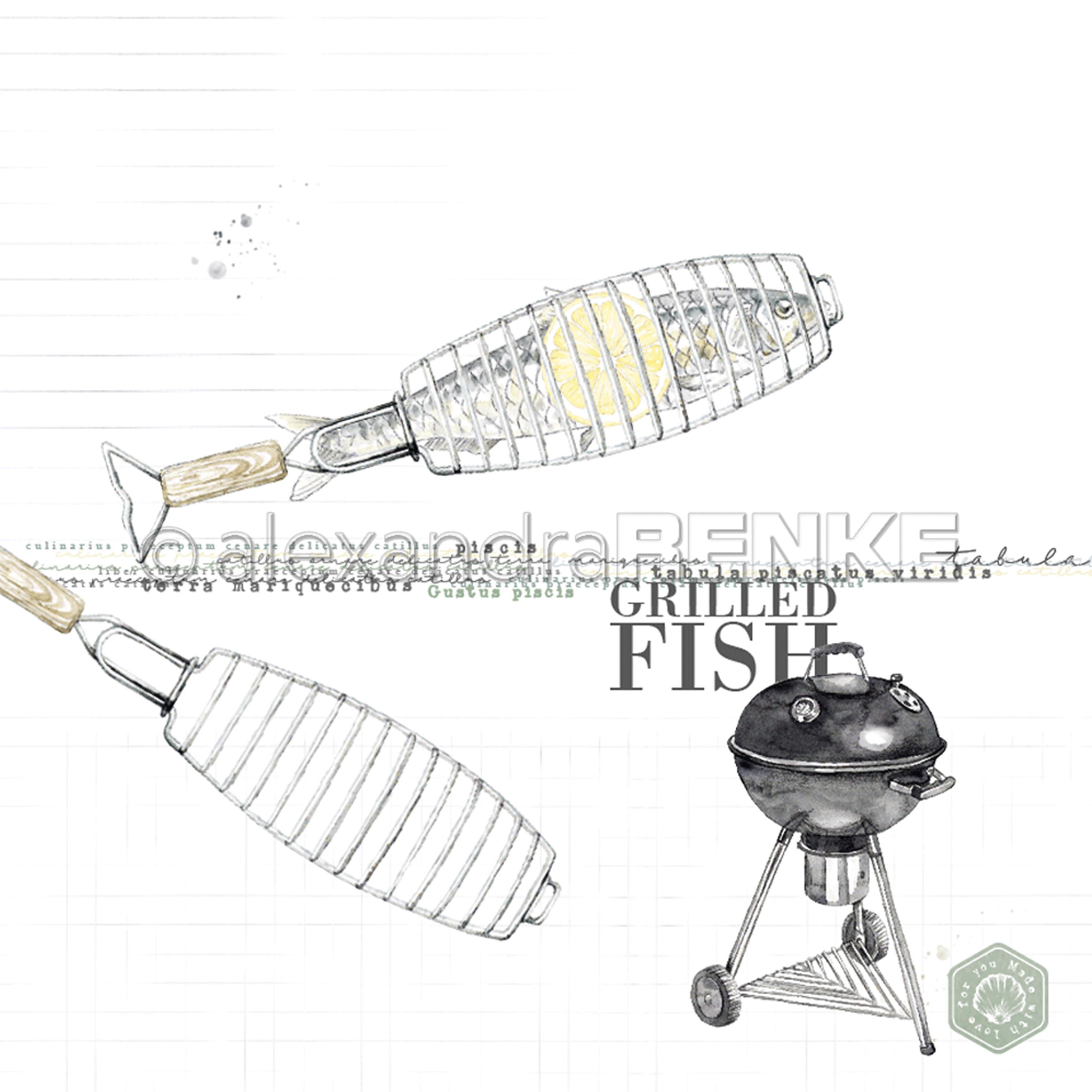 Renke Grilled Fish Paper