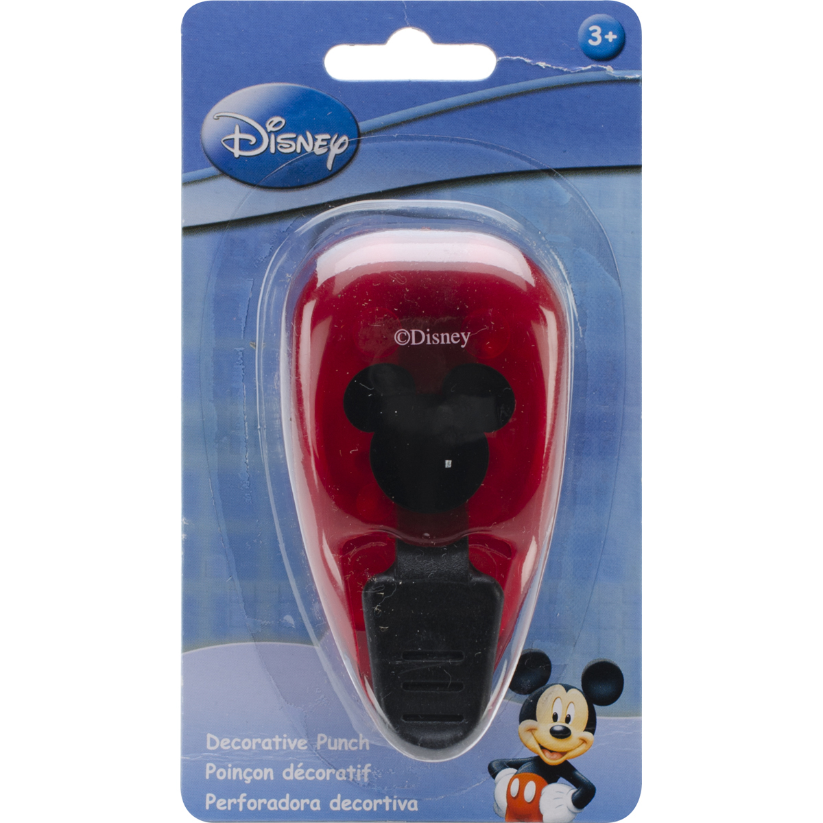 Disney Paper Shapers Medium Punch-Mickey Icon, 1