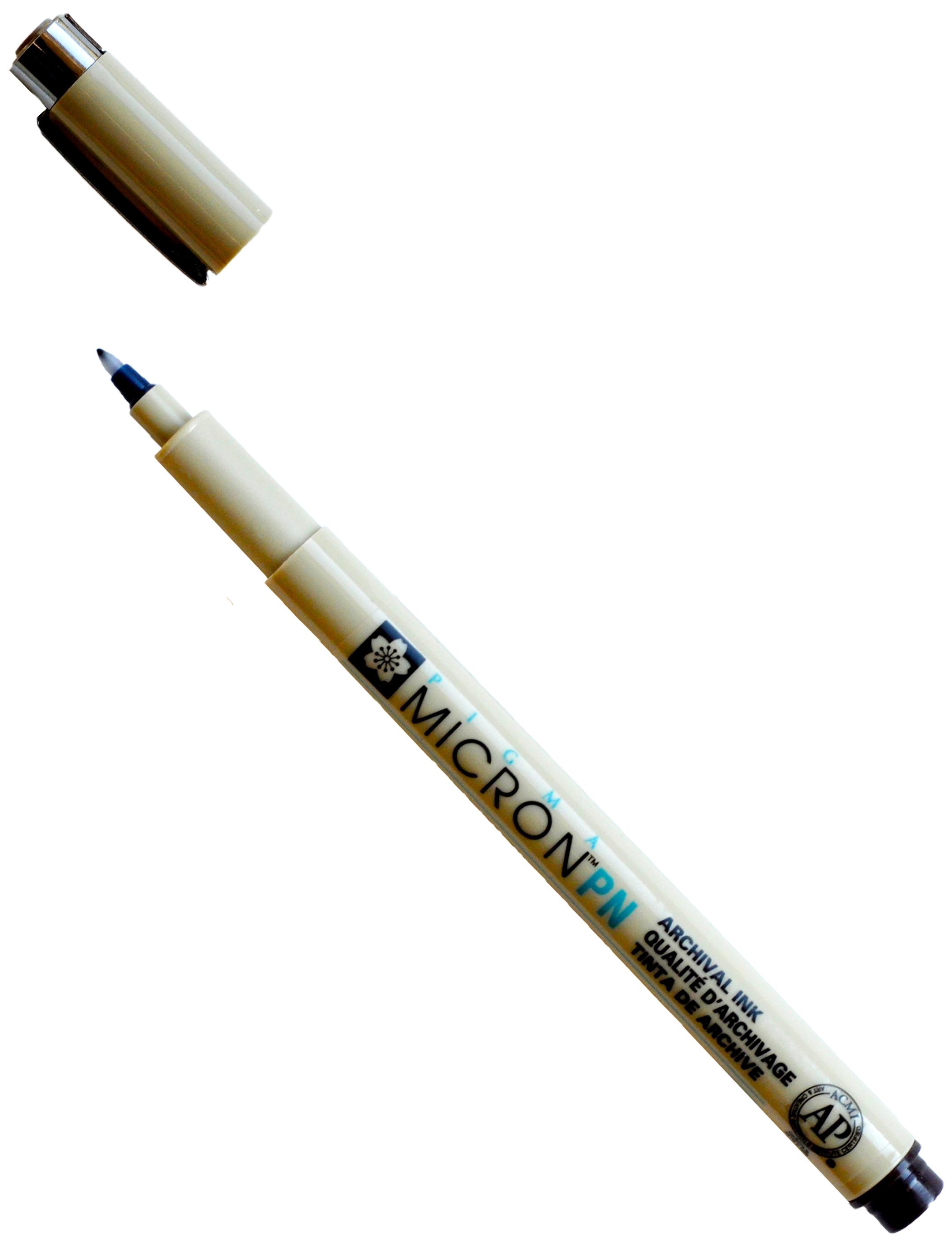 Pigma Micron Pen-Sepia