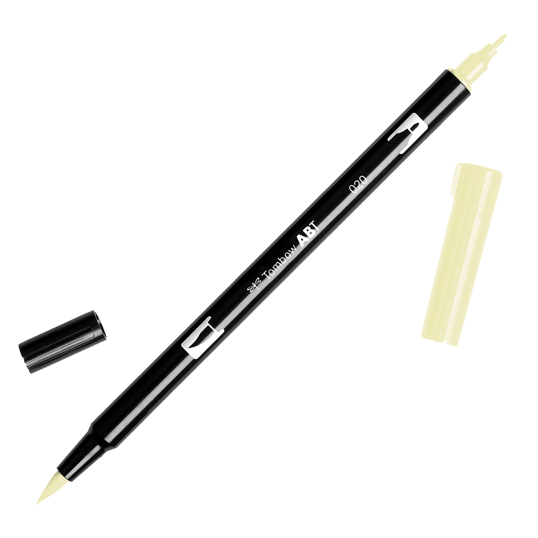 Tombow Dual Brush Marker Open Stock-020 Peach