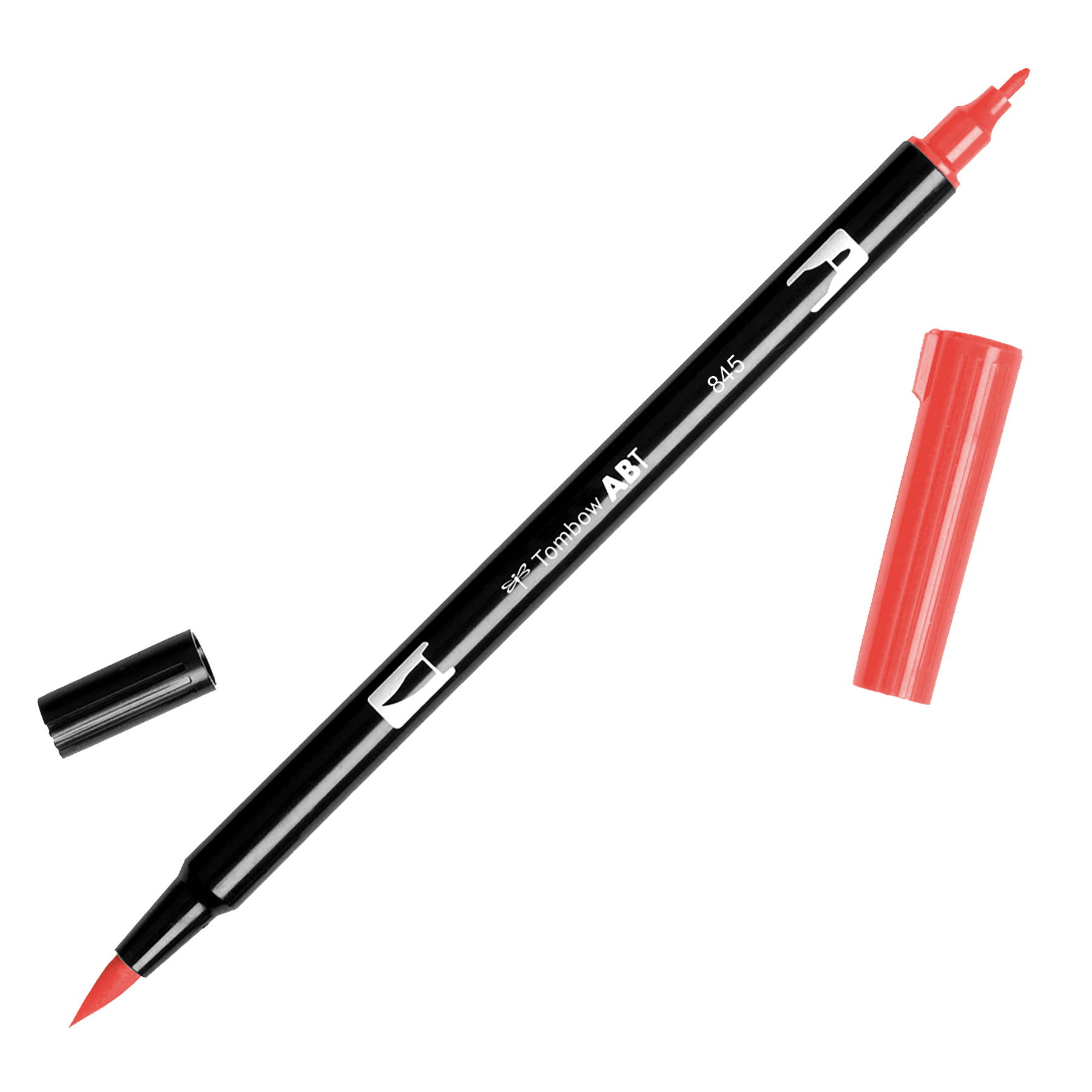 Tombow Dual Brush Marker Open Stock-845 Carmine