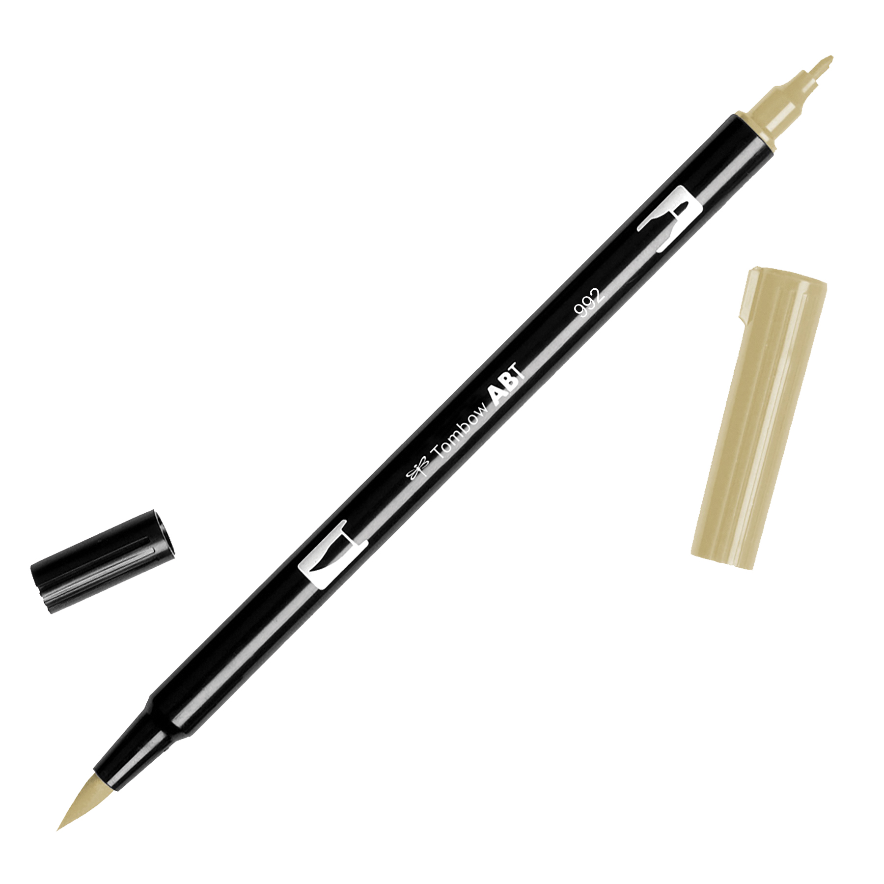 Tombow Dual Brush Marker Open Stock-992 Sand