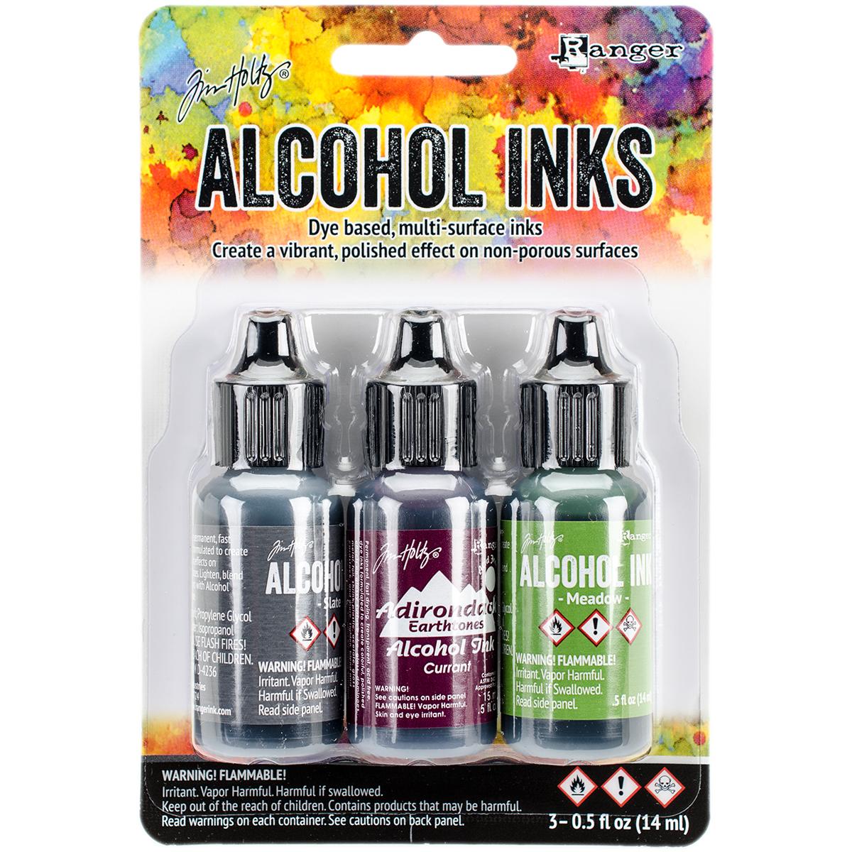 ALCOHOL INK SET COTTAGE PATH