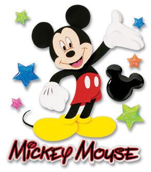 Disney Dimensional Stickers - Mickey