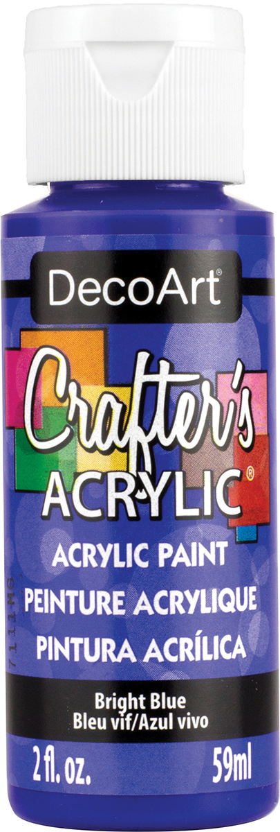 Crafter's Acrylic All-Purpose Paint 2oz-Bright Blue