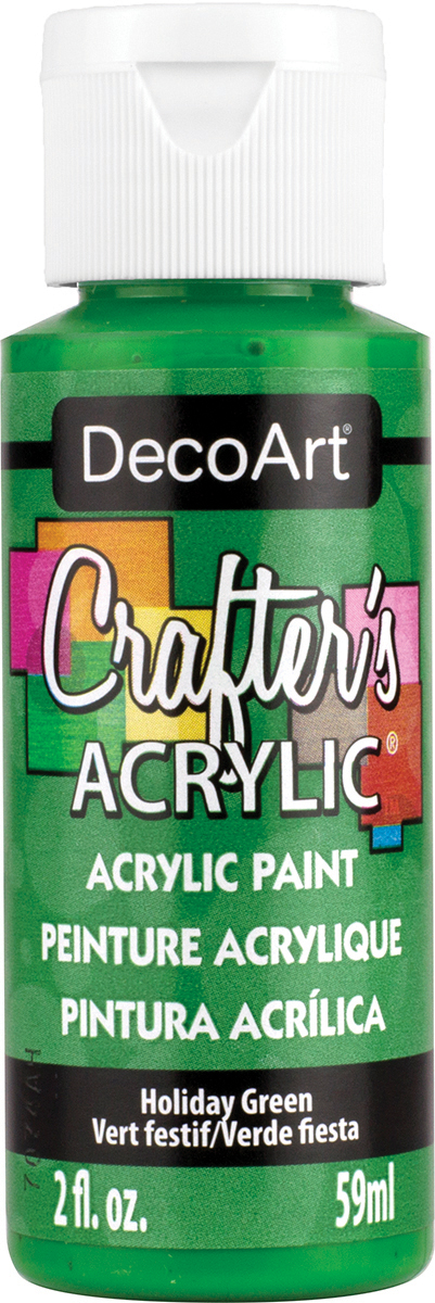 Crafter's Acrylic All-Purpose Paint 2oz-Holiday Green