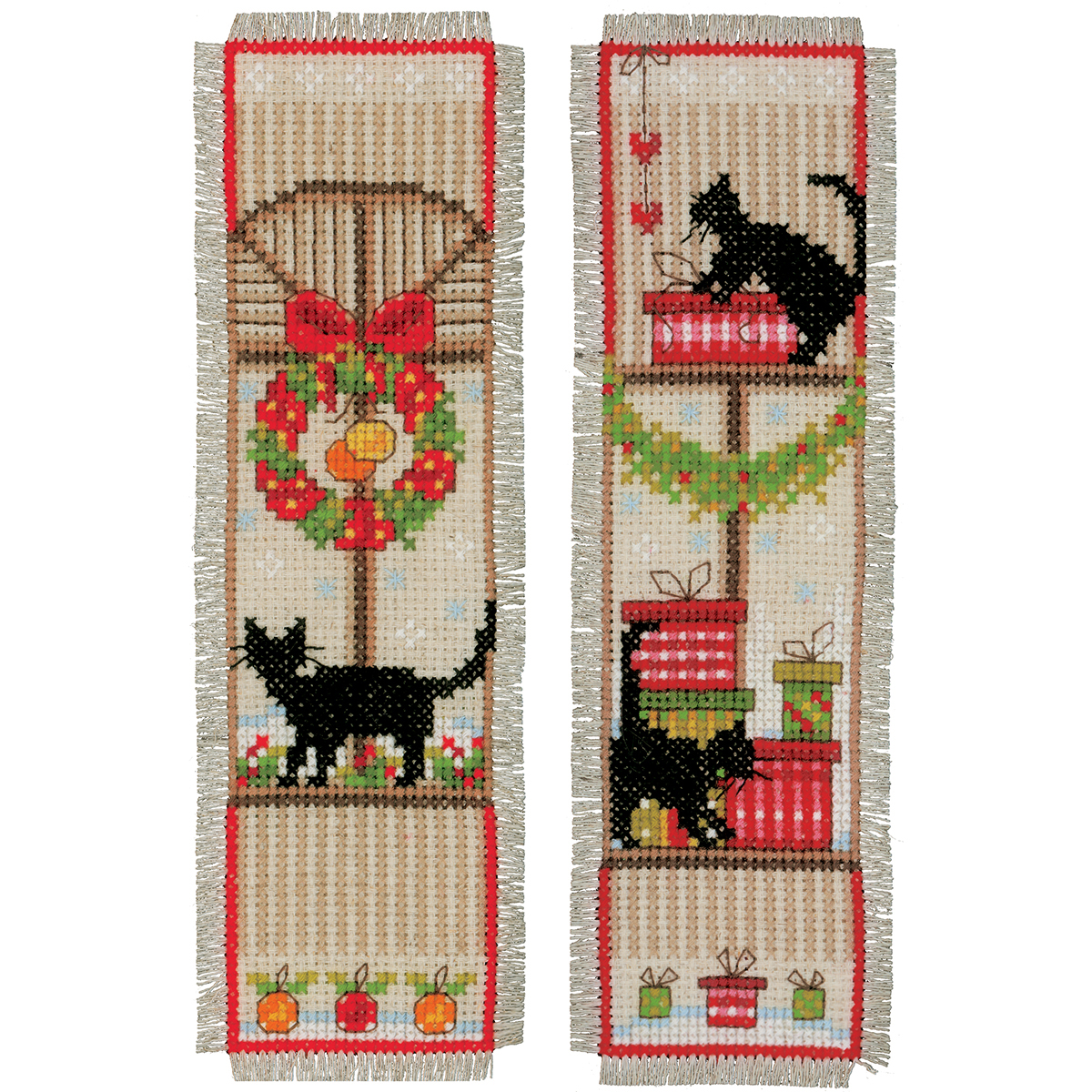 Vervaco - Counted cross Stitch kit BookMark
