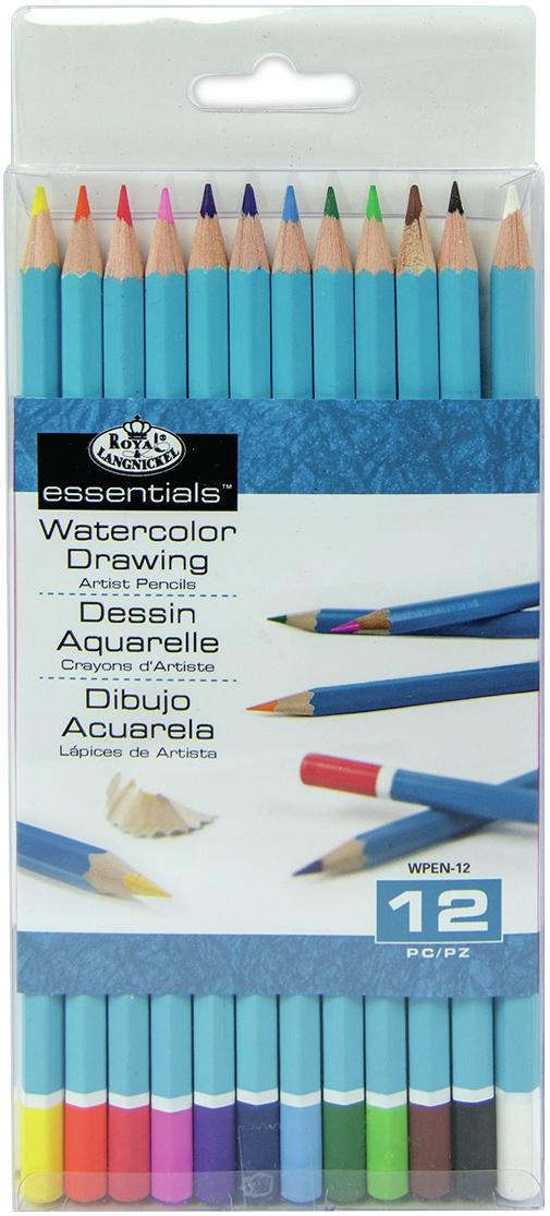 Wpen12 Asst 12/Pk-Watercolor Pencils