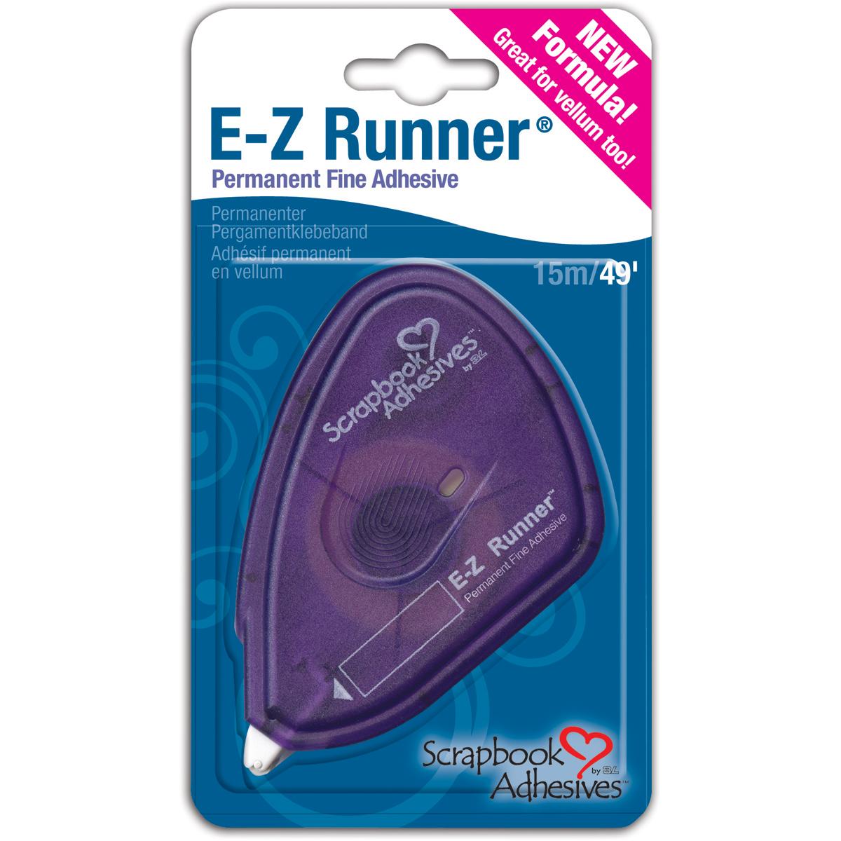 Scrapbook Adhesives E-Z Runner Fine Adhesive-Permanent, .375X49'