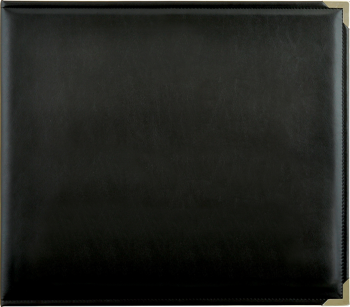 Kaisercraft Leather D-Ring Album 12X12-Black
