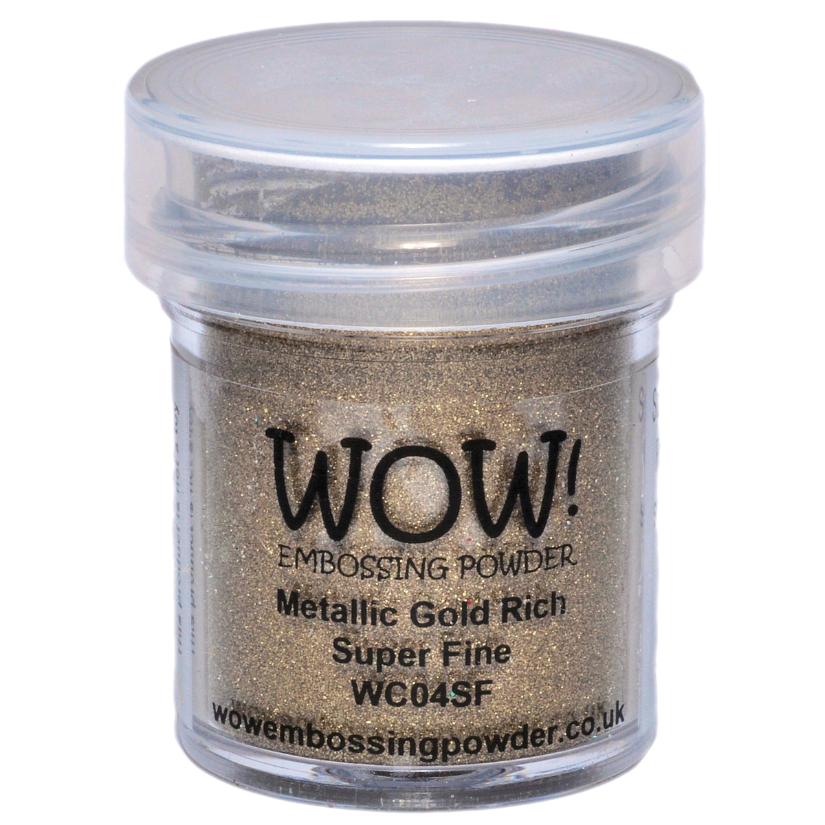 WOW! Embossing Powder Super Fine 15ml-Gold Rich
