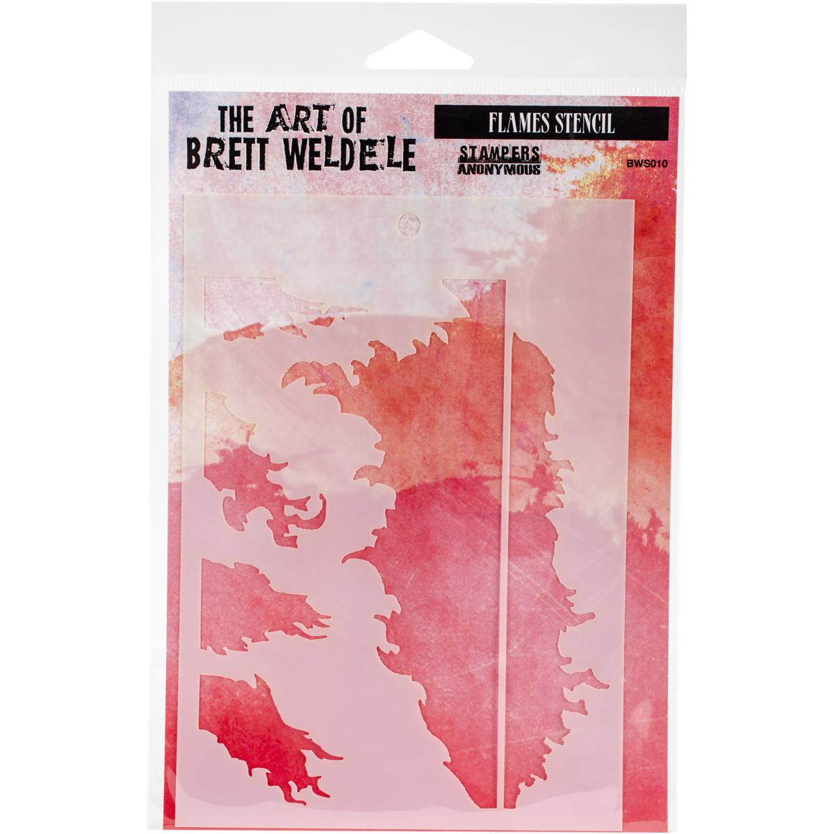Brett Weldele Flames