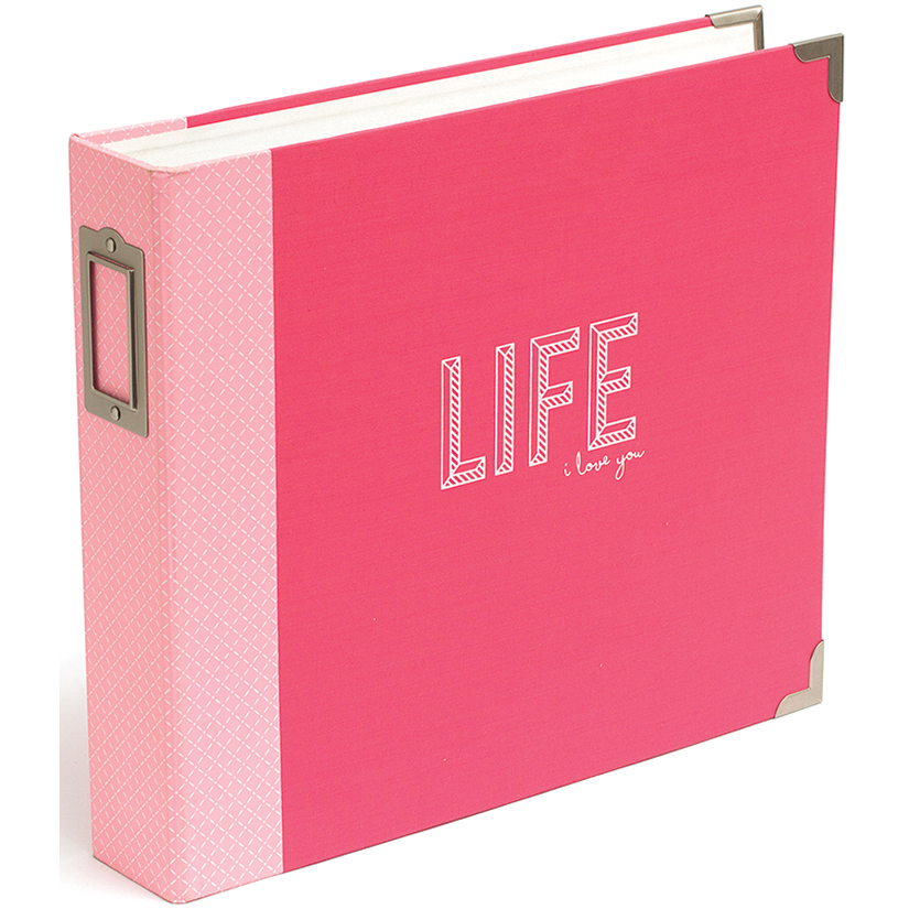 Project Life D-Ring Album 12X12-Coral Edition