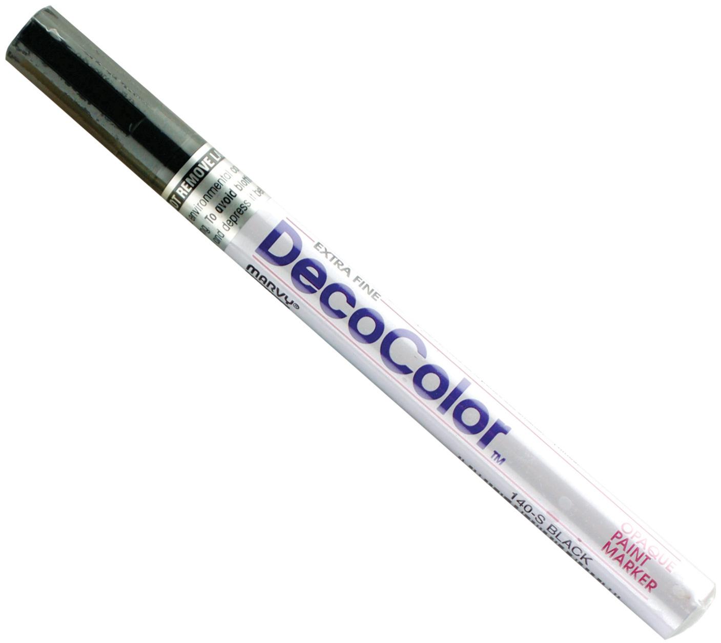 DecoColor paint marker black