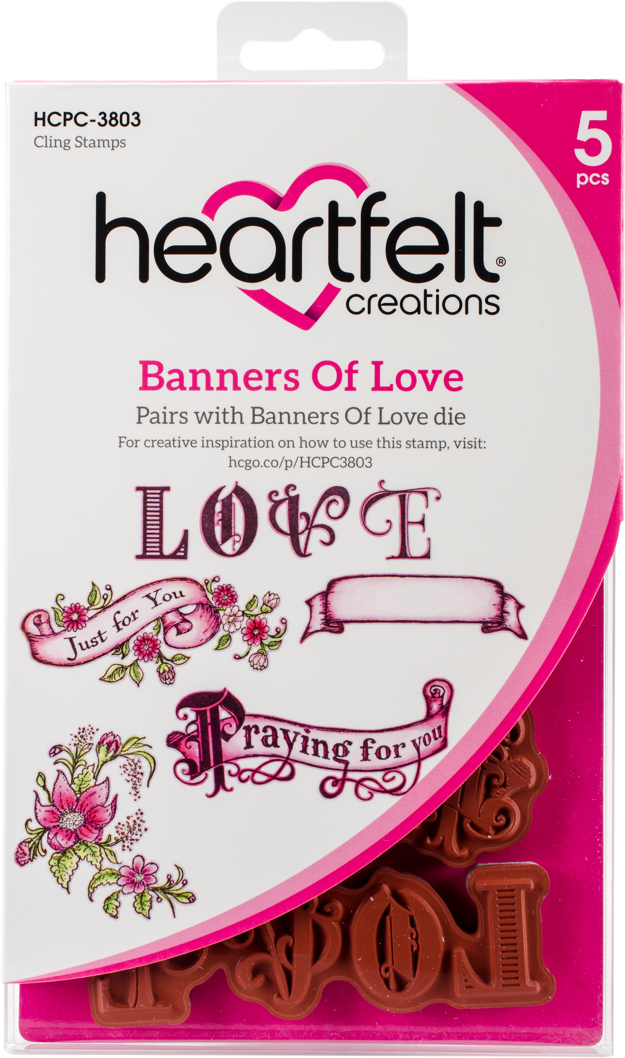 Banners Of Love Stamp