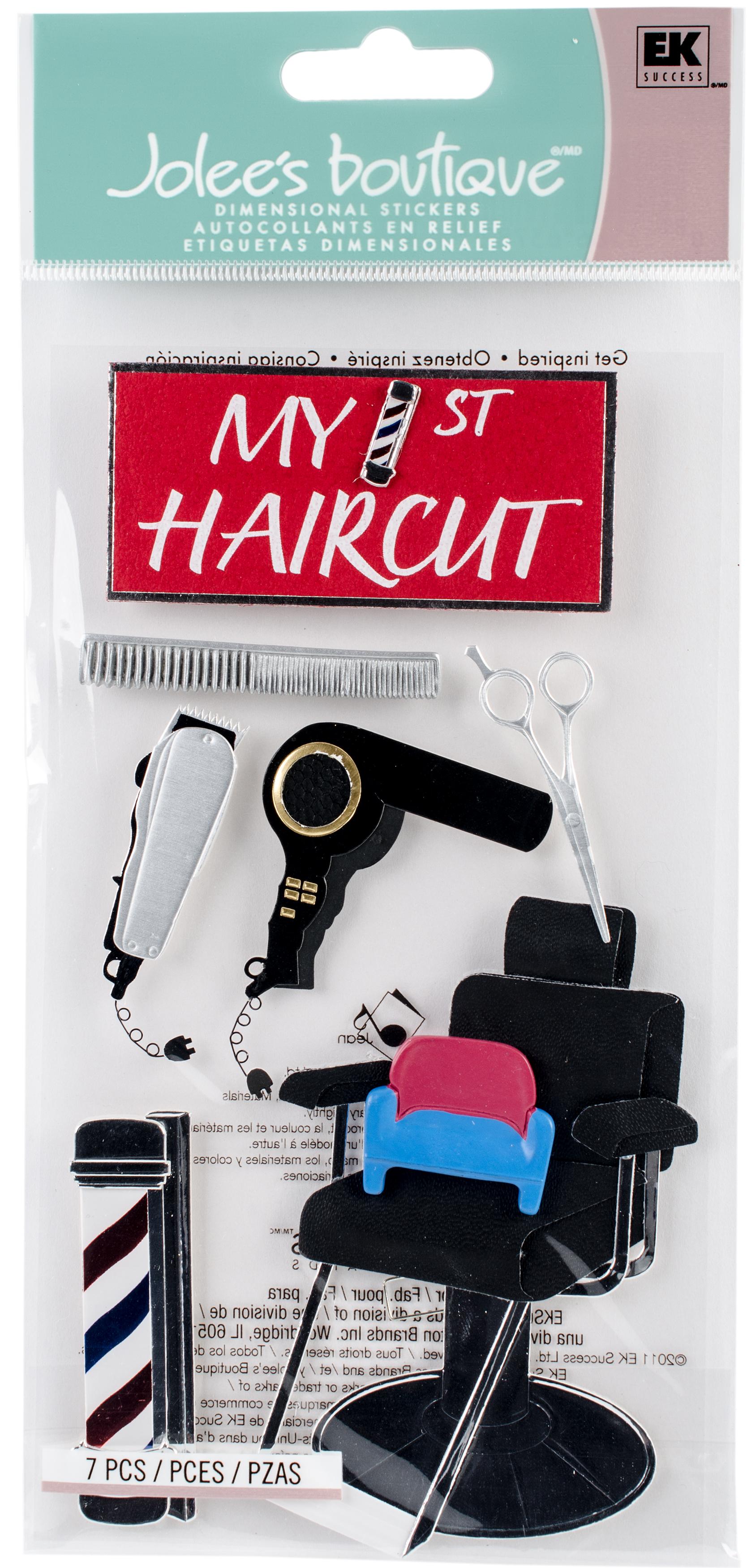 1st Haircut Sticker