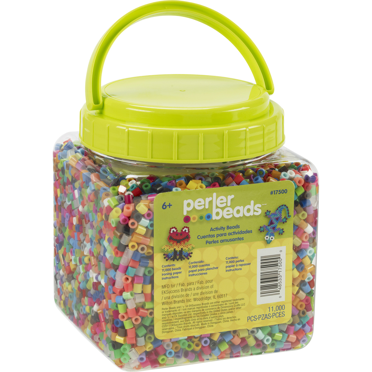 Perler Fused Beads 11,000/Pkg-Multicolor