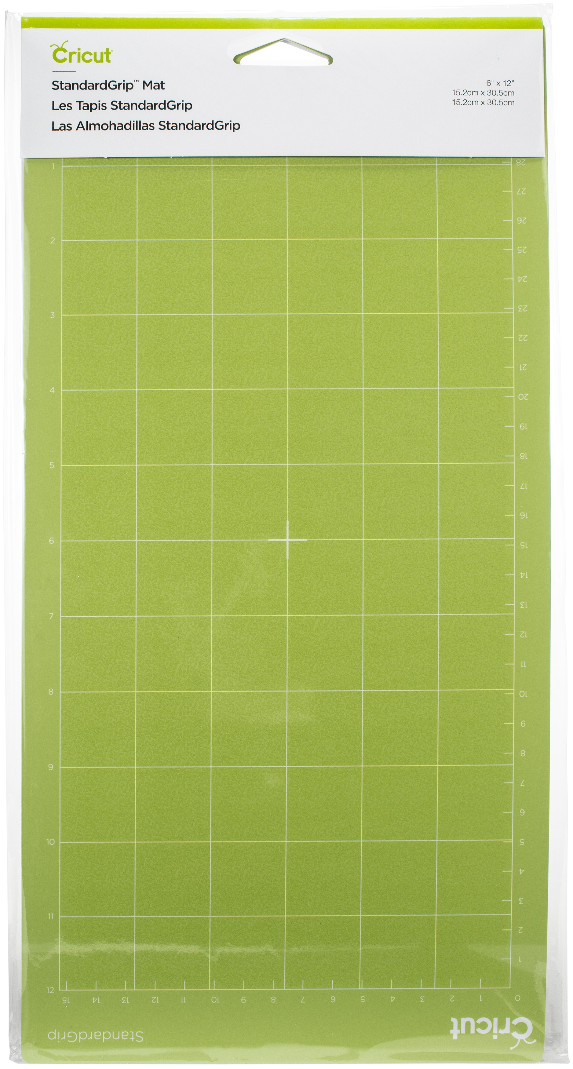 Cricut Cutting Mats 6X12 2/Pkg-StandardGrip