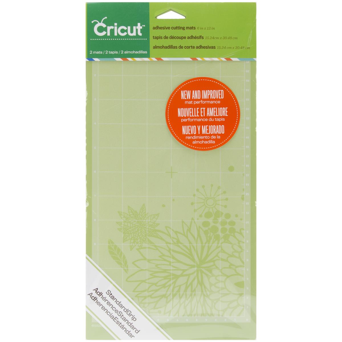Cricut Cutting Mats 6X12 2/Pkg-StandardGrip