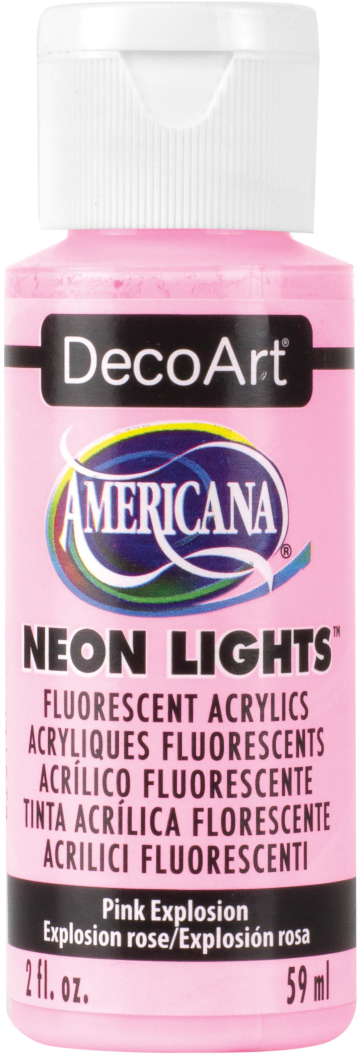 Americana Neon Lights 2oz-Pink Explosion