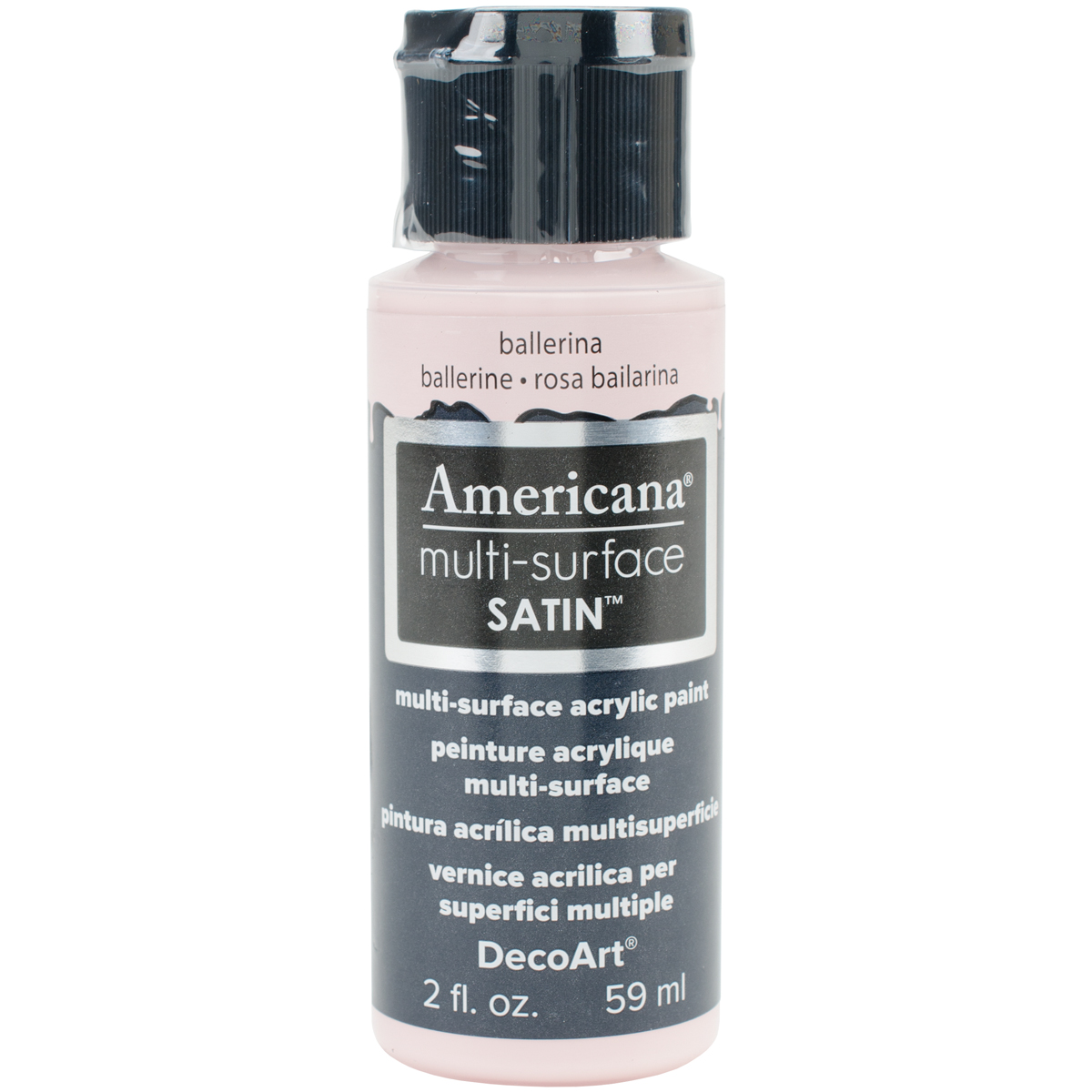 Americana Multi-Surface Satin Acrylic Paint 2oz-Ballerina