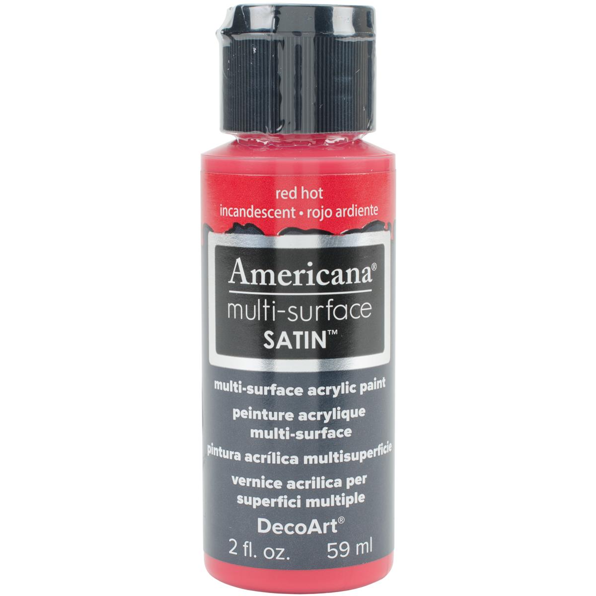 AMERICANA PAINT 2OZ RED HOT