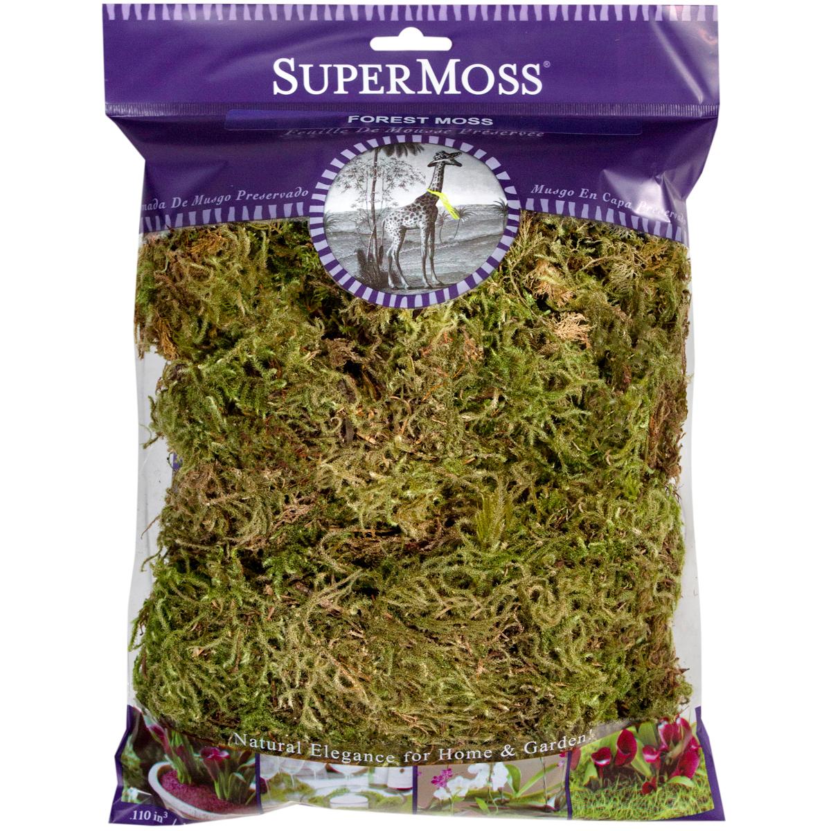 Super Moss Forest Moss Dried 4oz-