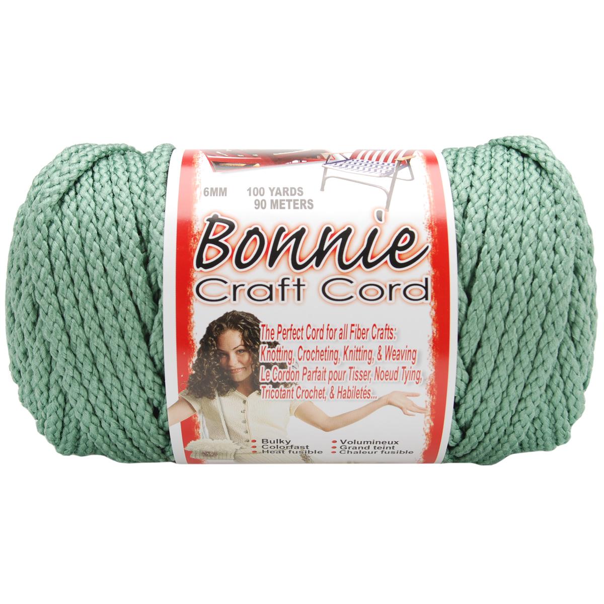Bonnie Macrame Craft Cord 6mmX100yd-Sage