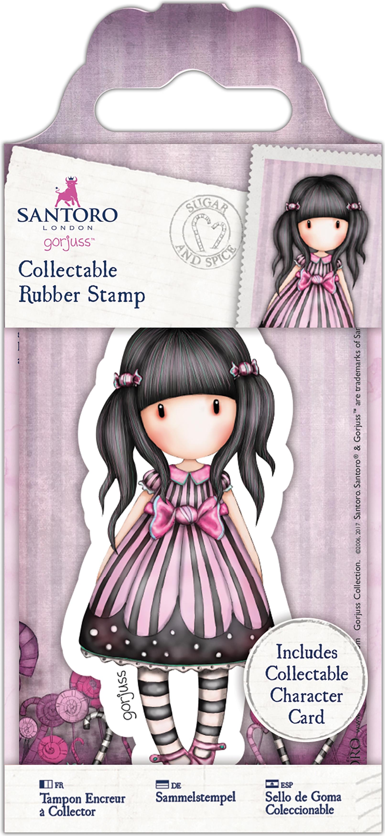 Santoro's Gorjuss Rubber Stamp-No