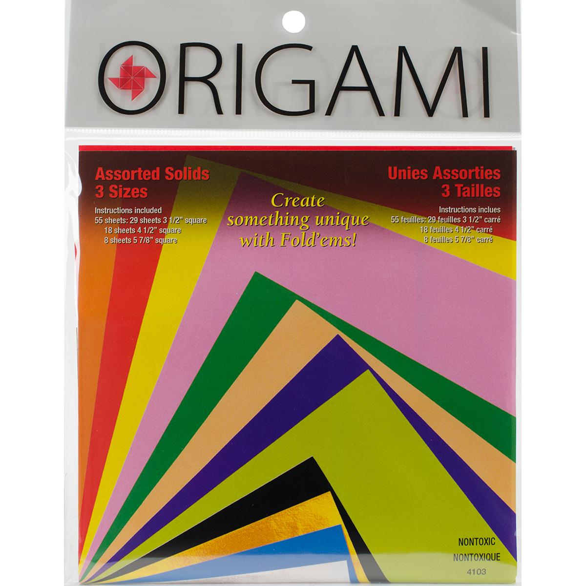 ORIGAMI PAPER 55/PKG