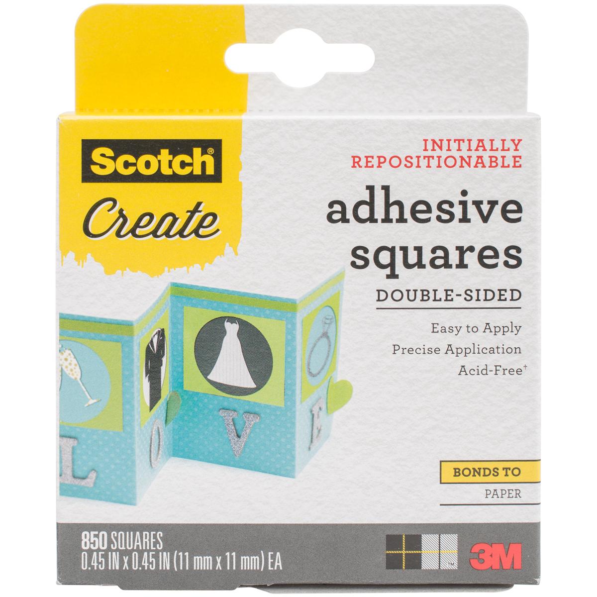 Scotch Adhesive Sq.