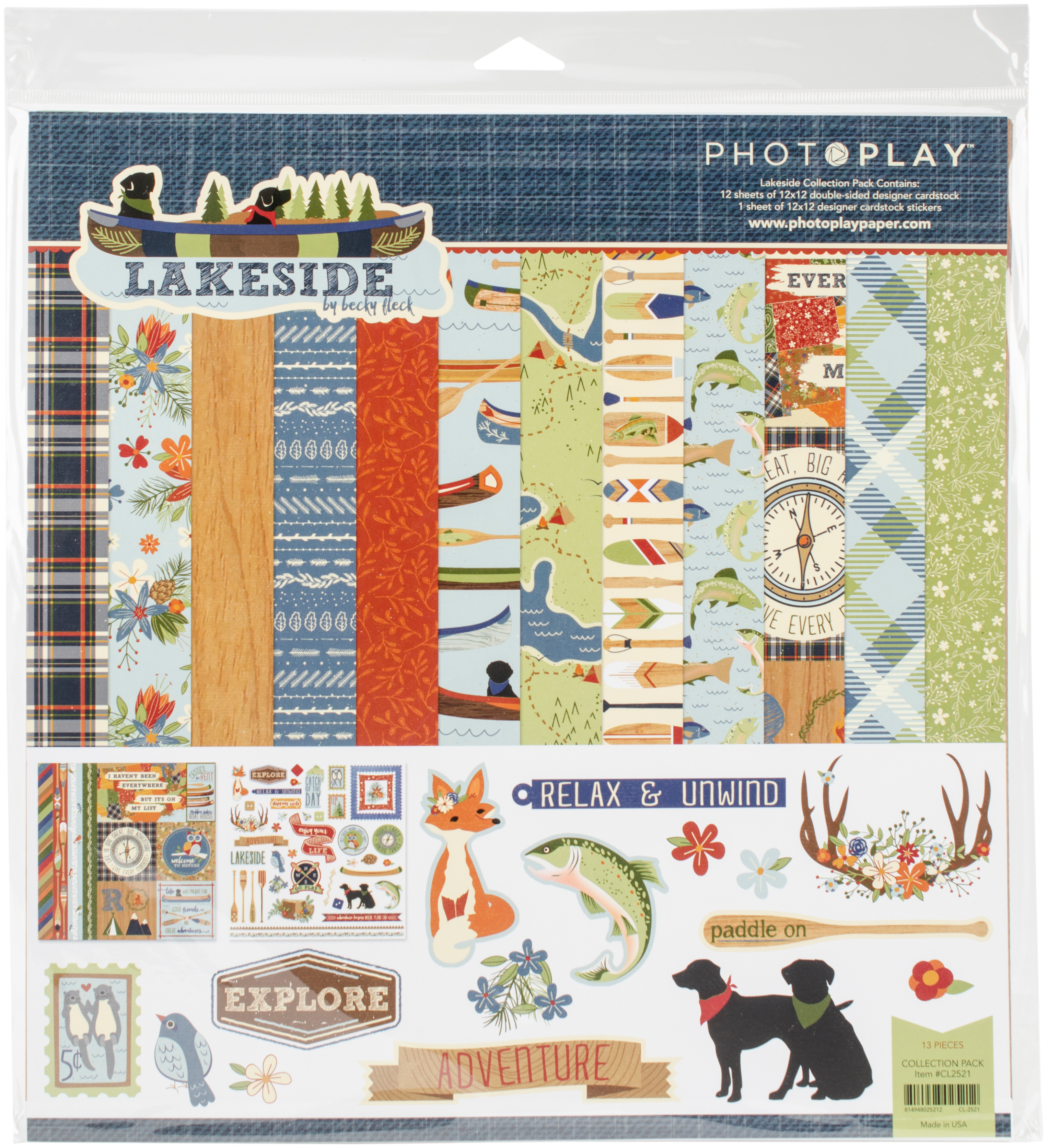 PhotoPlay Collection Pack 12X12-Lakeside