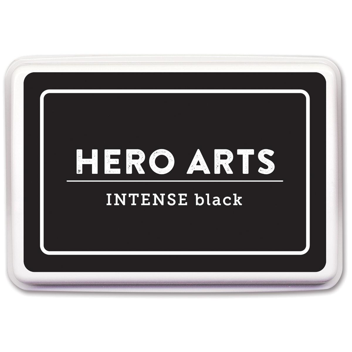 Hero Arts Dye Ink Pad-Intense Black