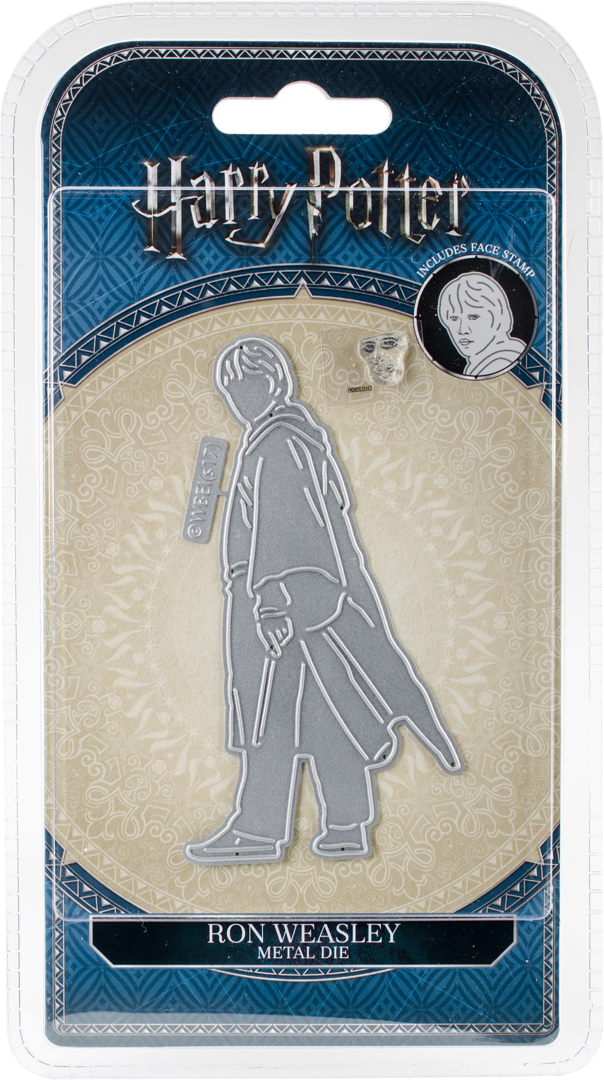 Harry Potter Die And Face Stamp Set-Ron Weasley