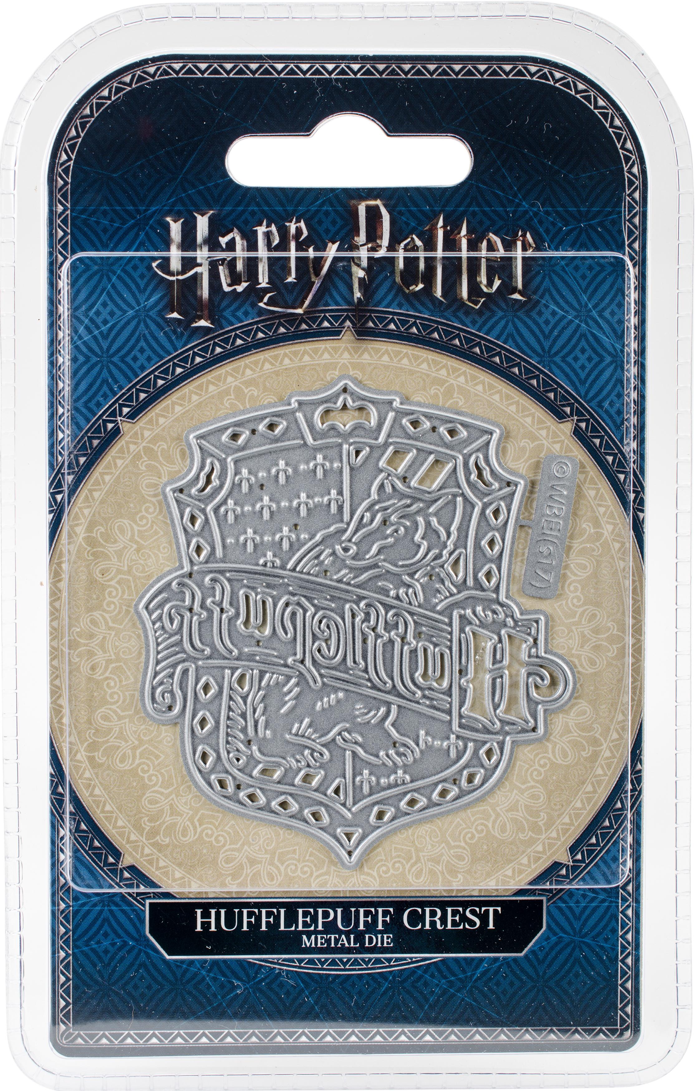 ^Harry Potter Hufflepuff Crest Metal Die