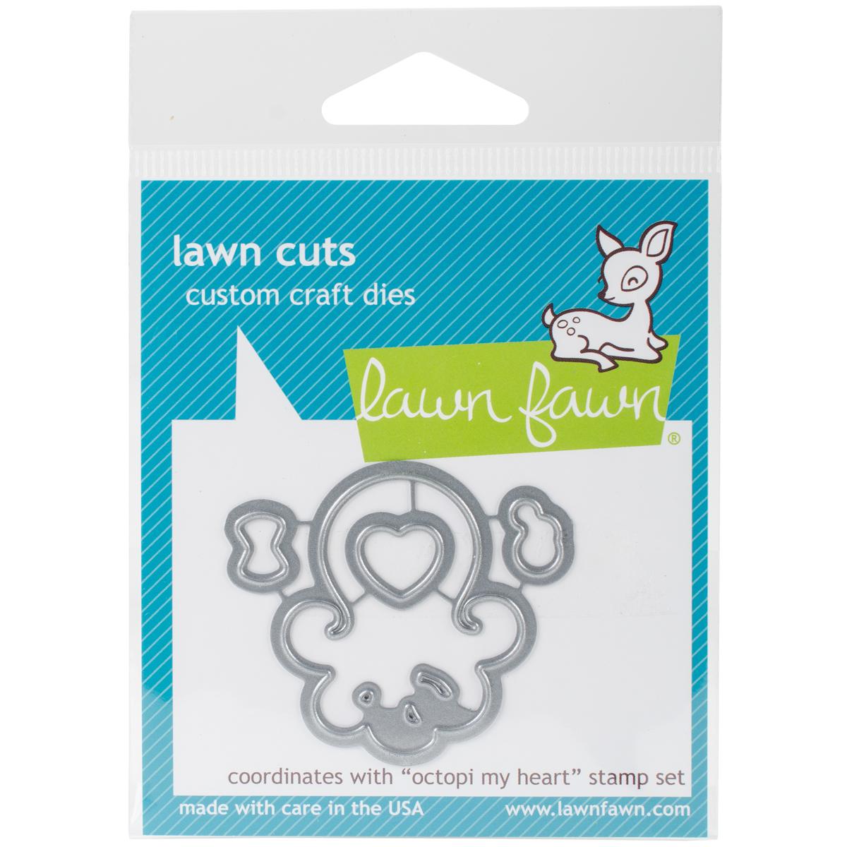 Lawn Cuts Custom Craft Die-Octopi My Heart