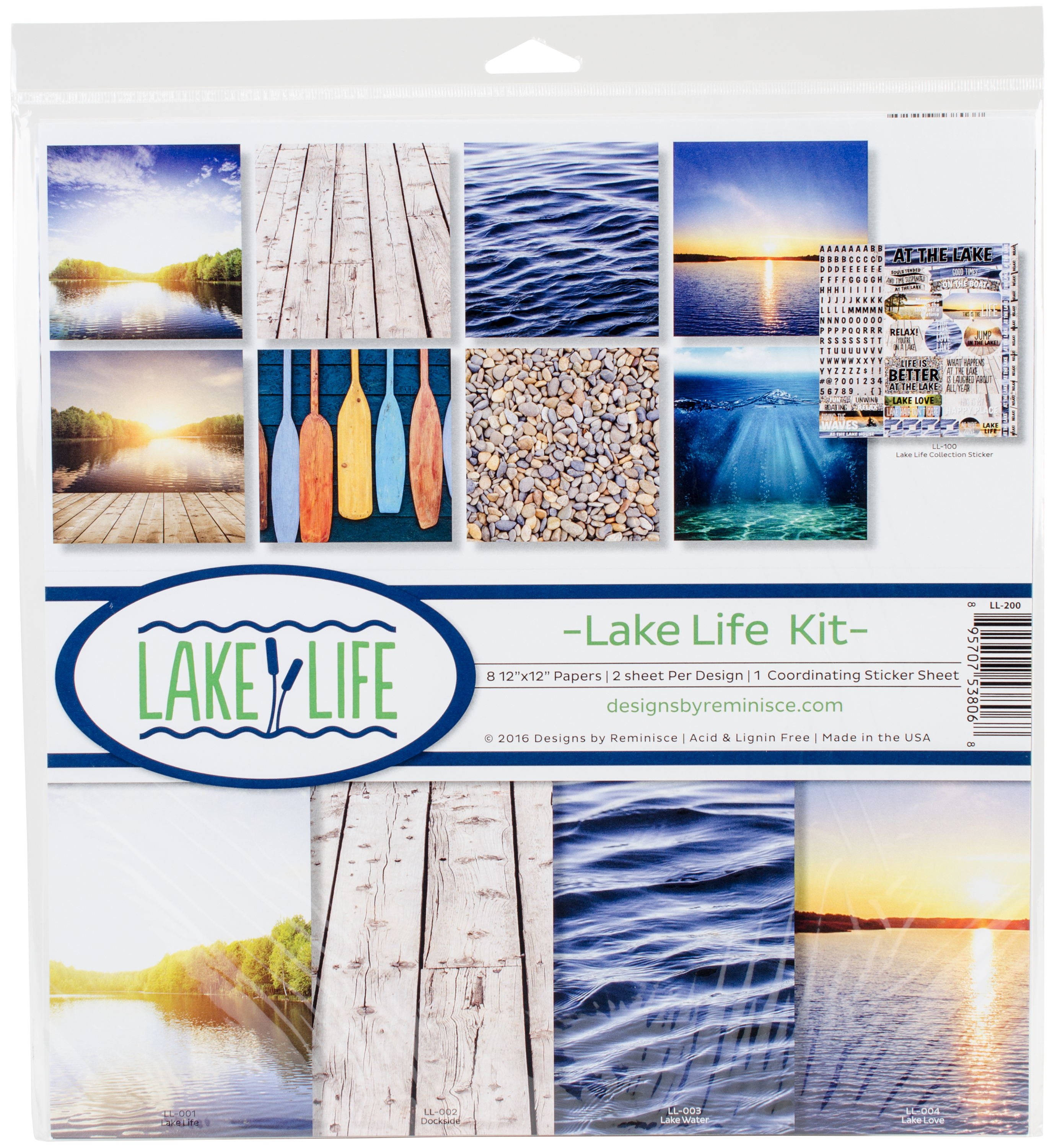 Lake Life - Reminisce Collection Kit 12X12