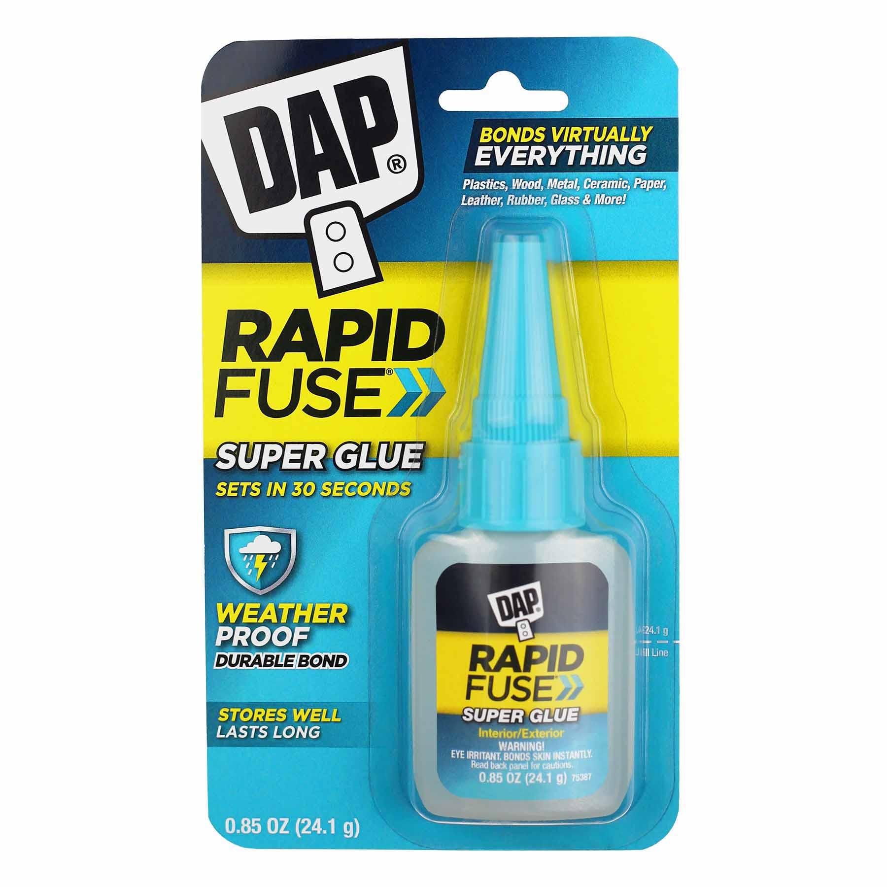 DAP .85OZ CLR -RAPID FUSE ALL PURPS