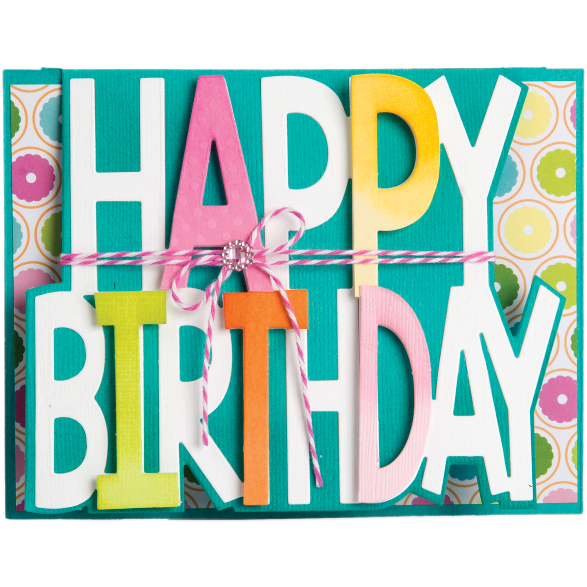 Happy BIrthday Drop-Ins Card