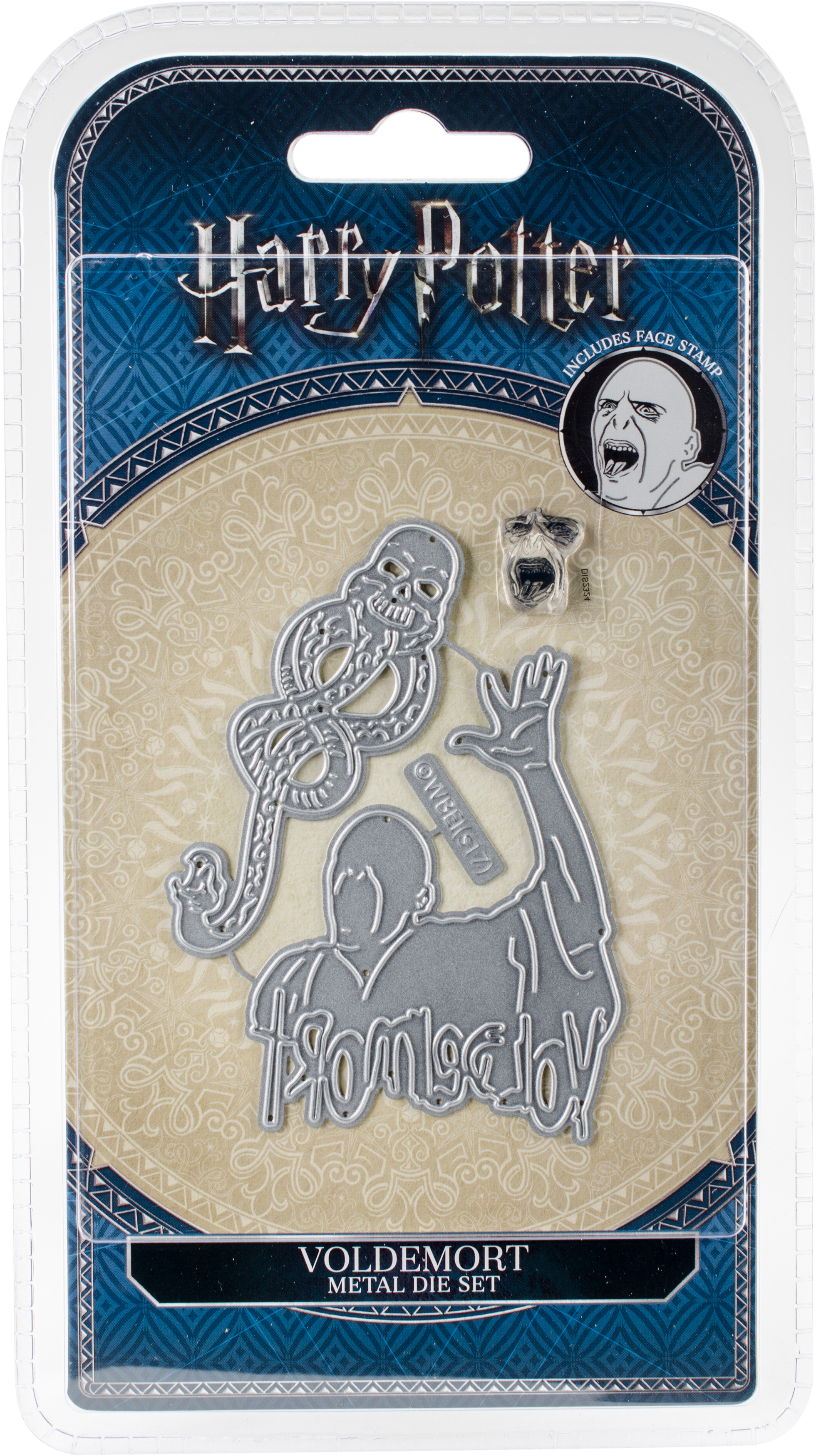 Harry Potter Die And Face Stamp Set-Voldemort