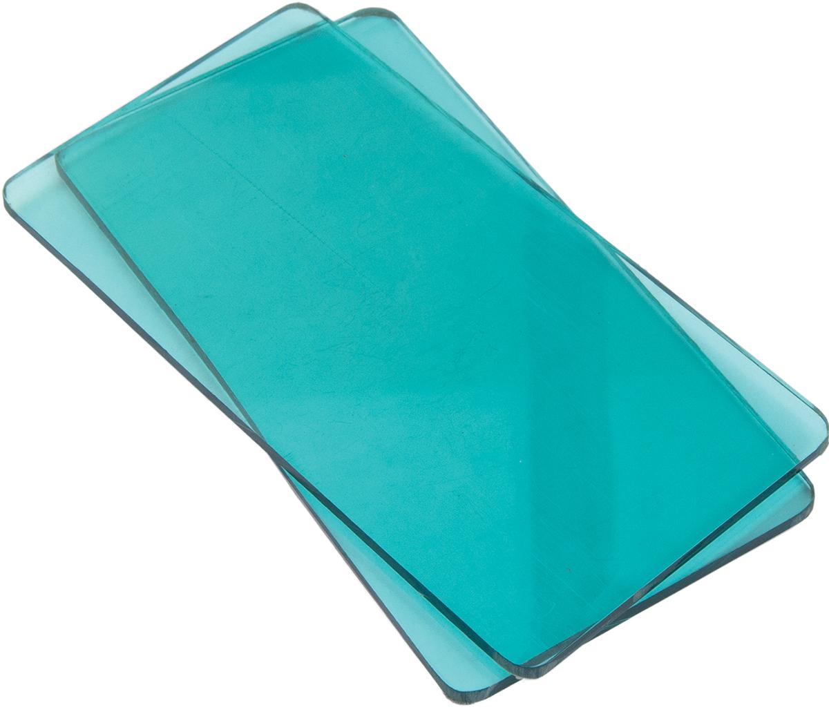 Sizzix Sidekick Cutting Pads 1 Pair-Aqua