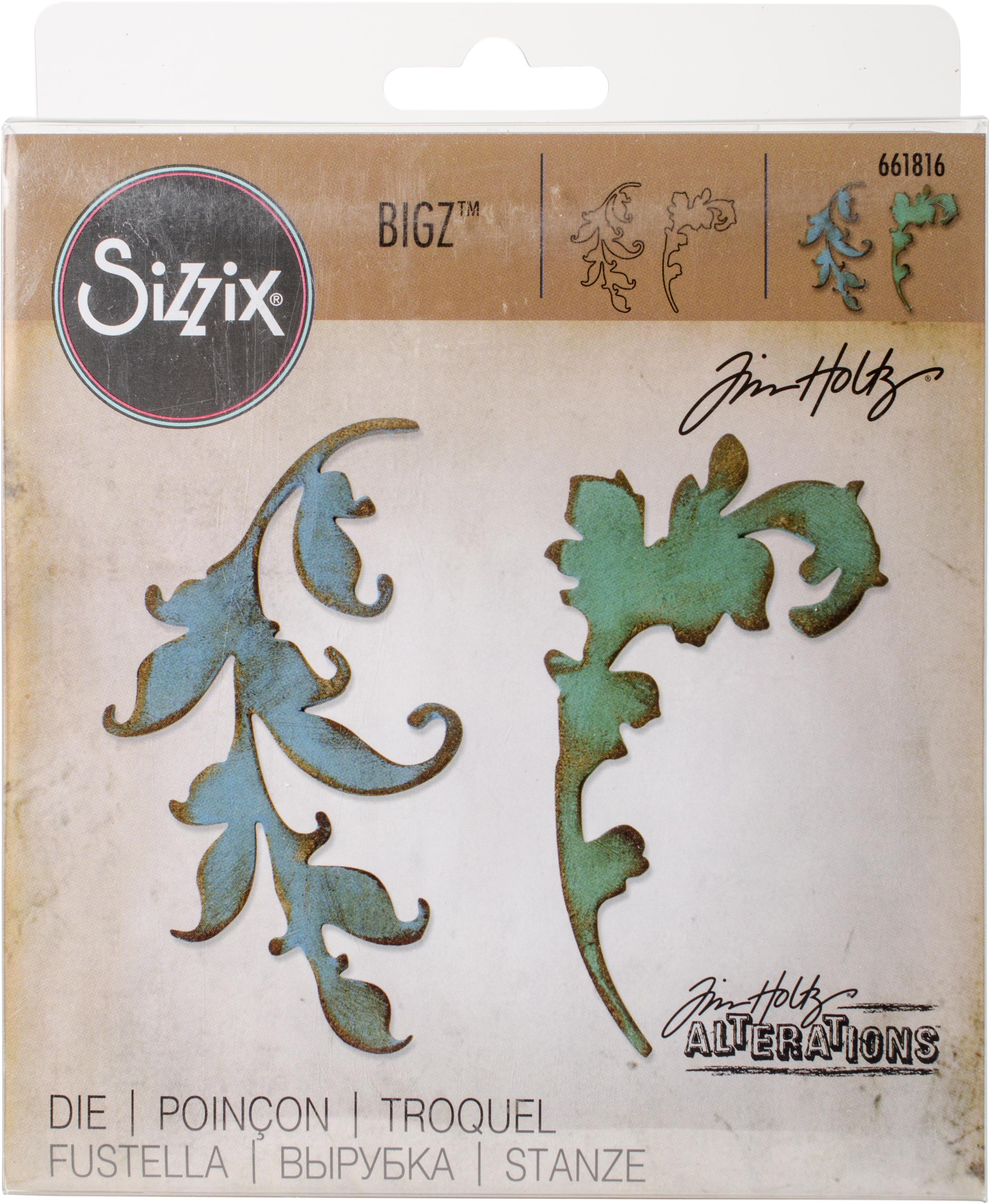 SCROLL    -SIZZIX BIGZ DIES