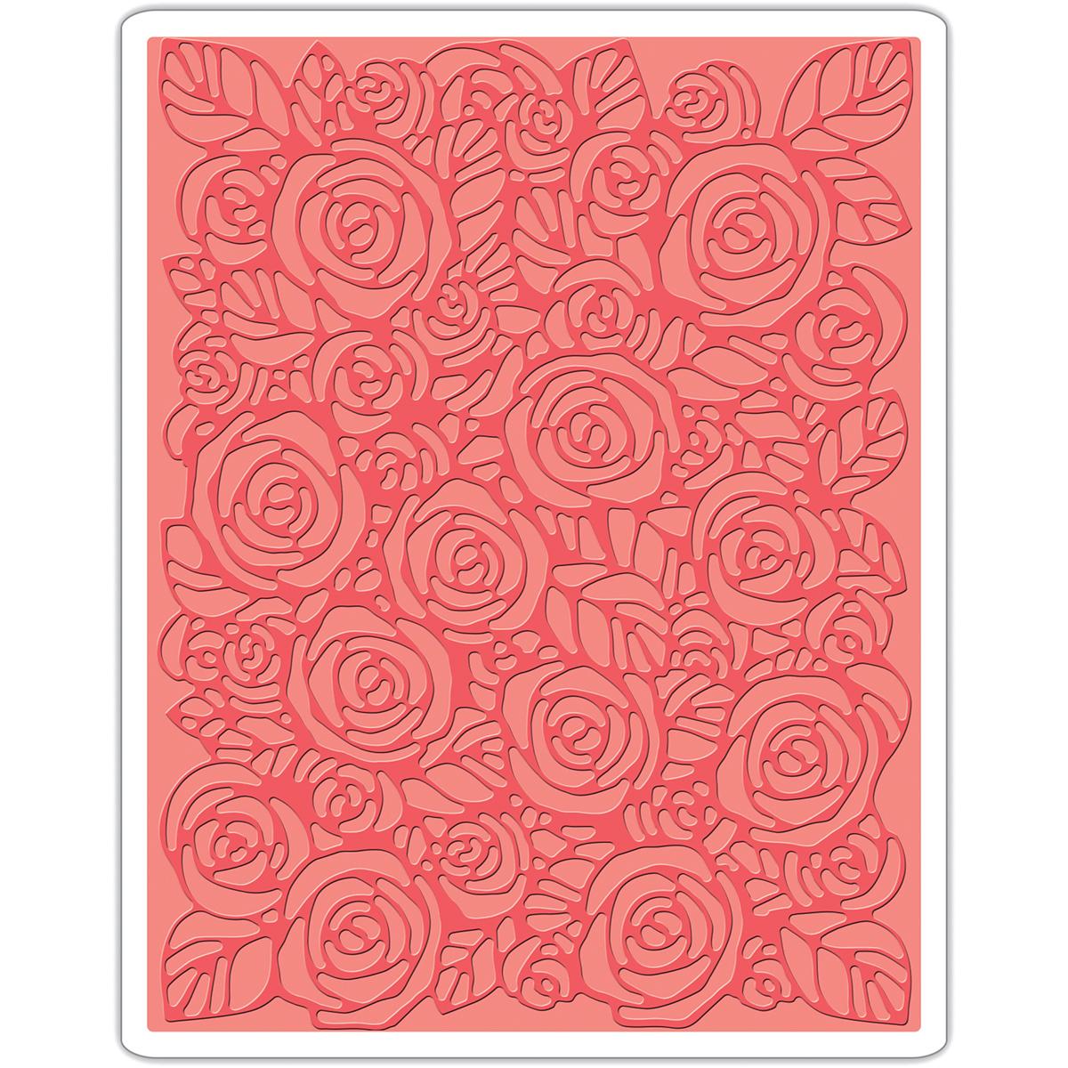 Sizzix Roses Embossing Folder