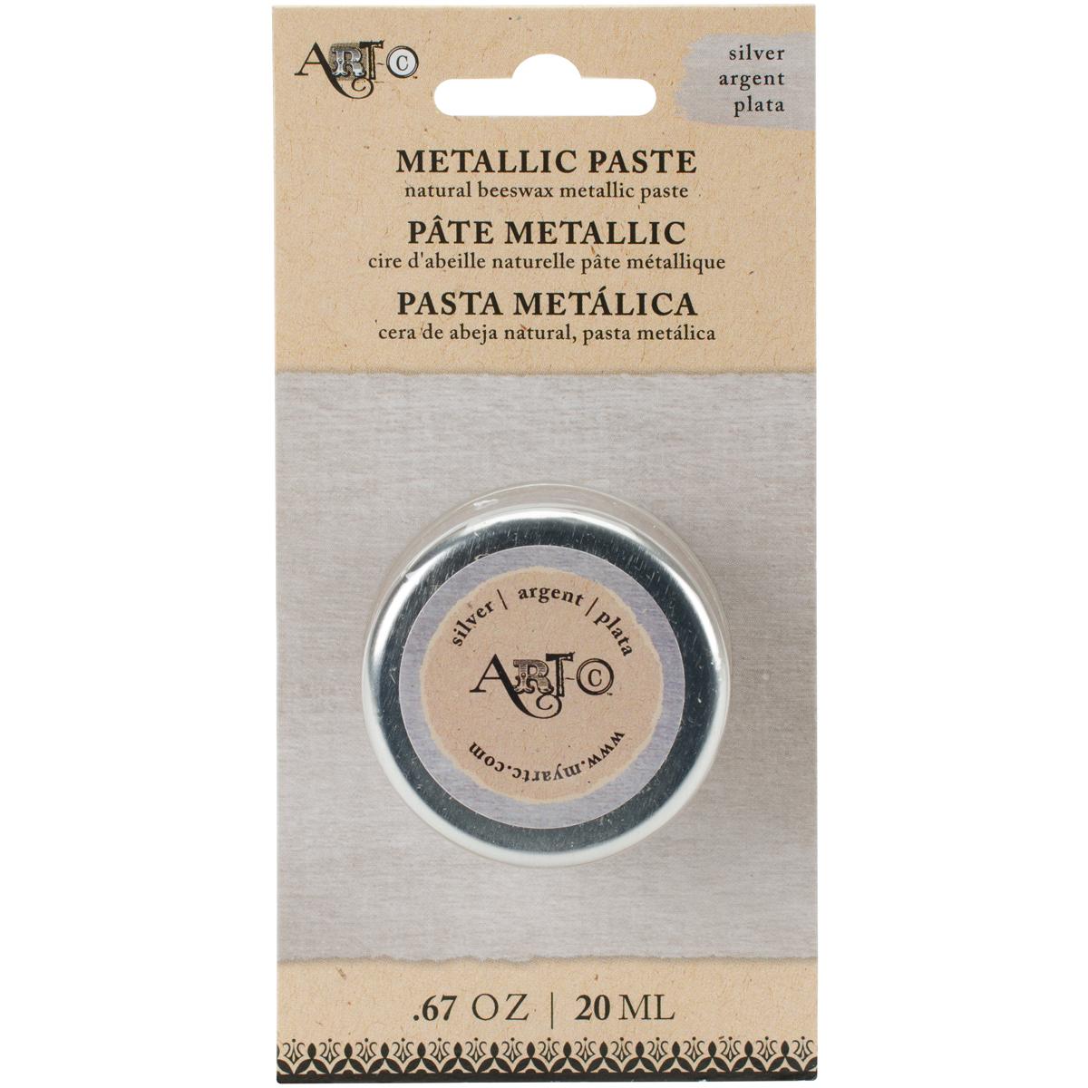 Artcwax - 25970 Silver    -Artc Wax Paste 20Ml