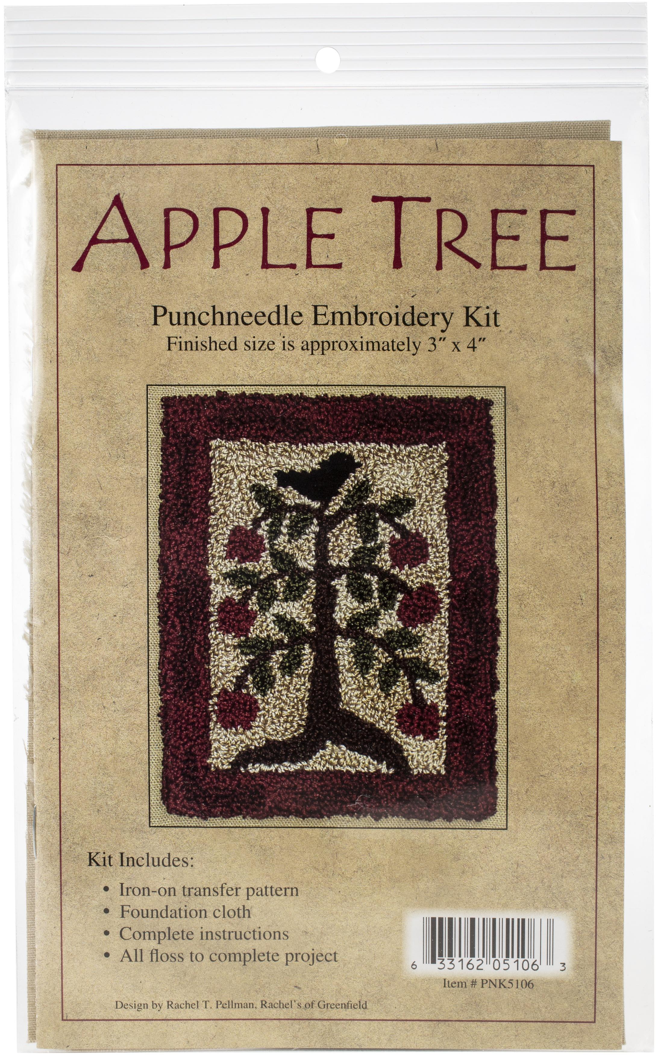 Apple Tree Punchneedle