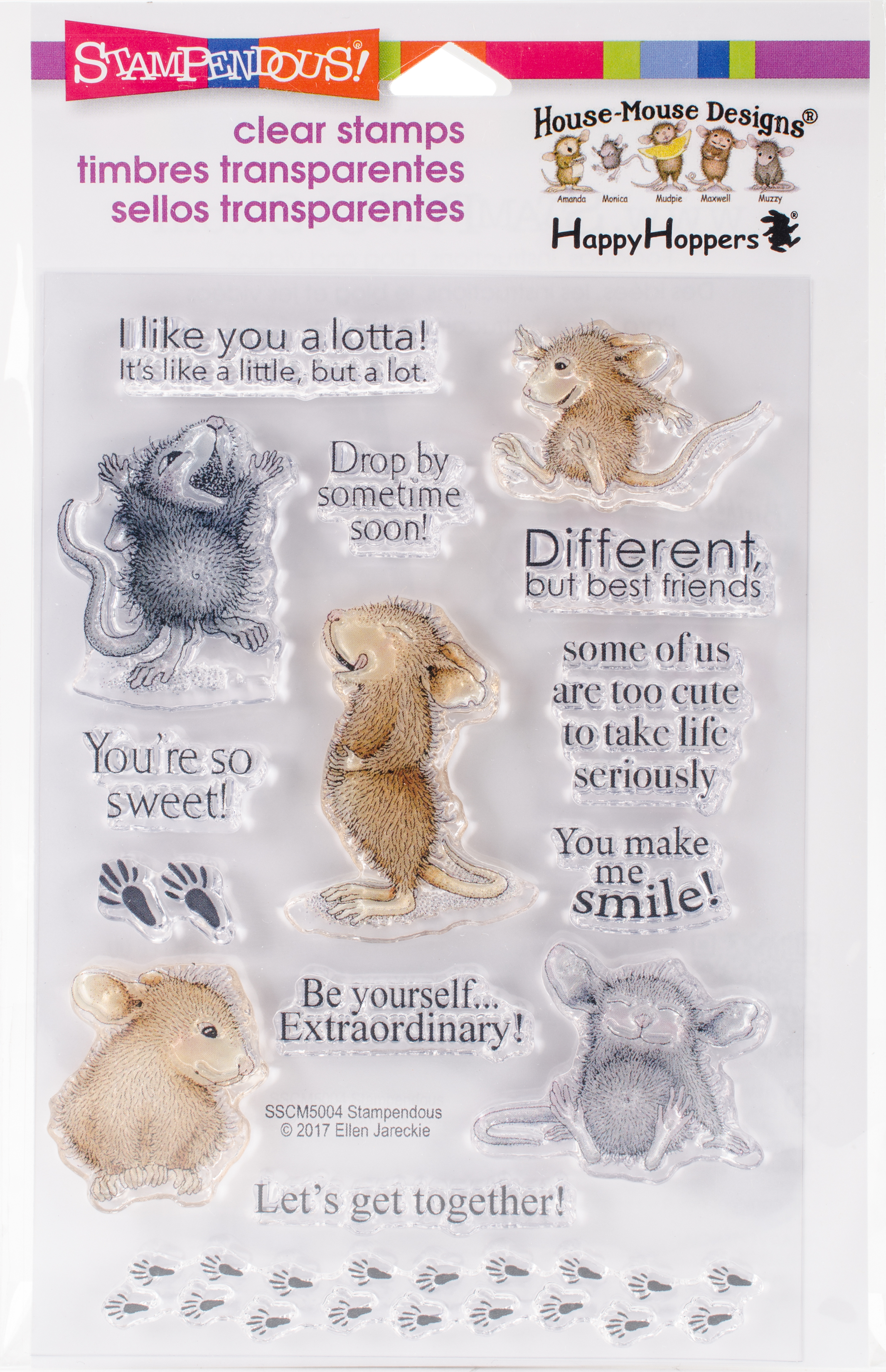 Stampendous Clear Stamps - House Mouse So Sweet