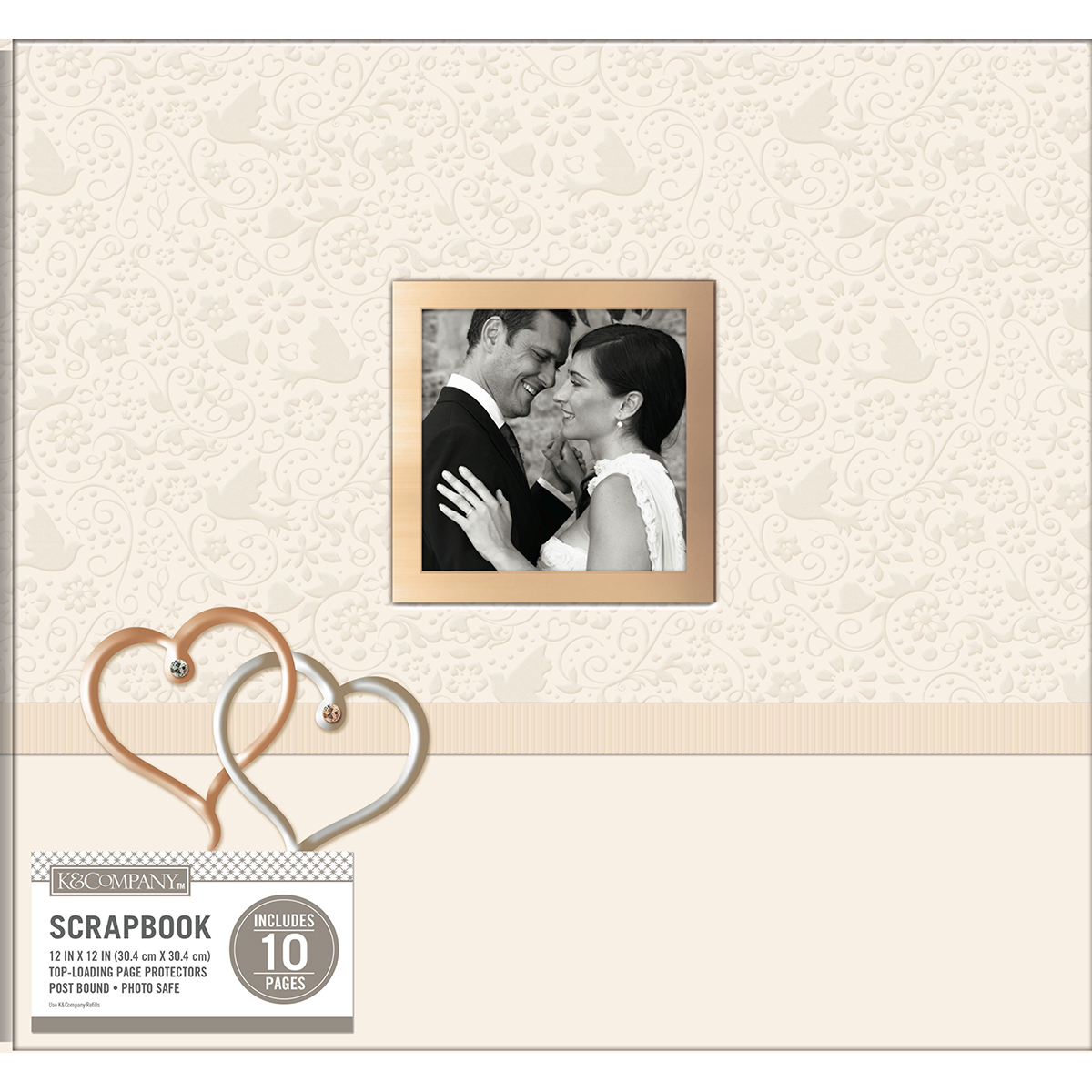 Wedding Hearts Postbound Album