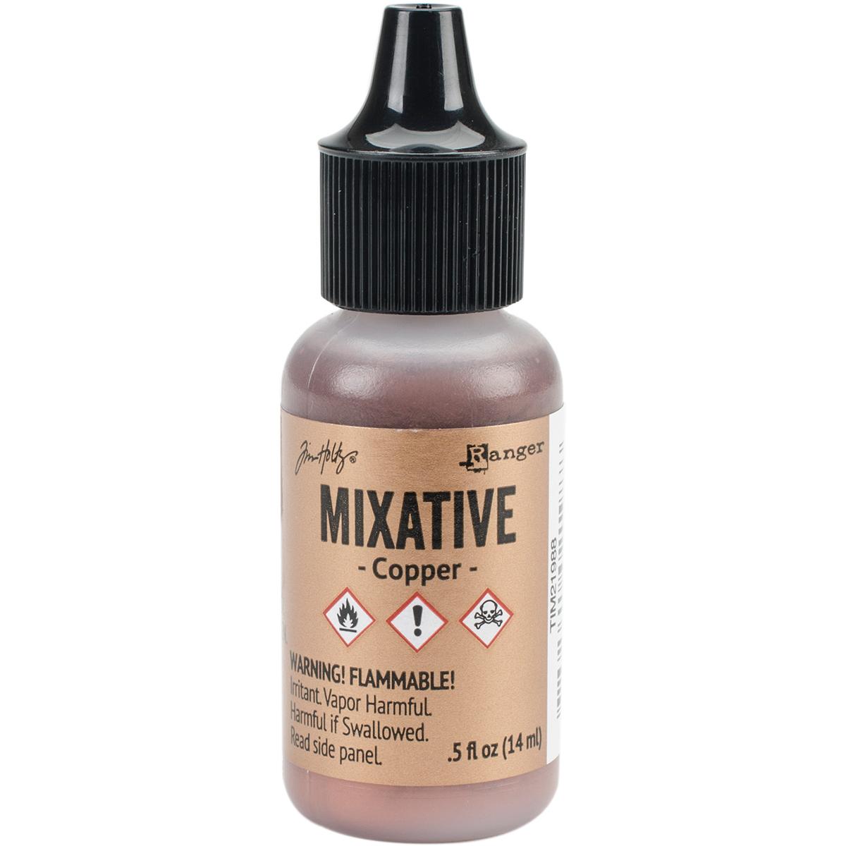 Tim Holtz - Alcohol Ink Metallic Mixative - Copper
