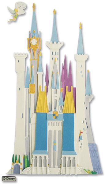 Jolees Disney Dimensional Stickers - Disney Castle