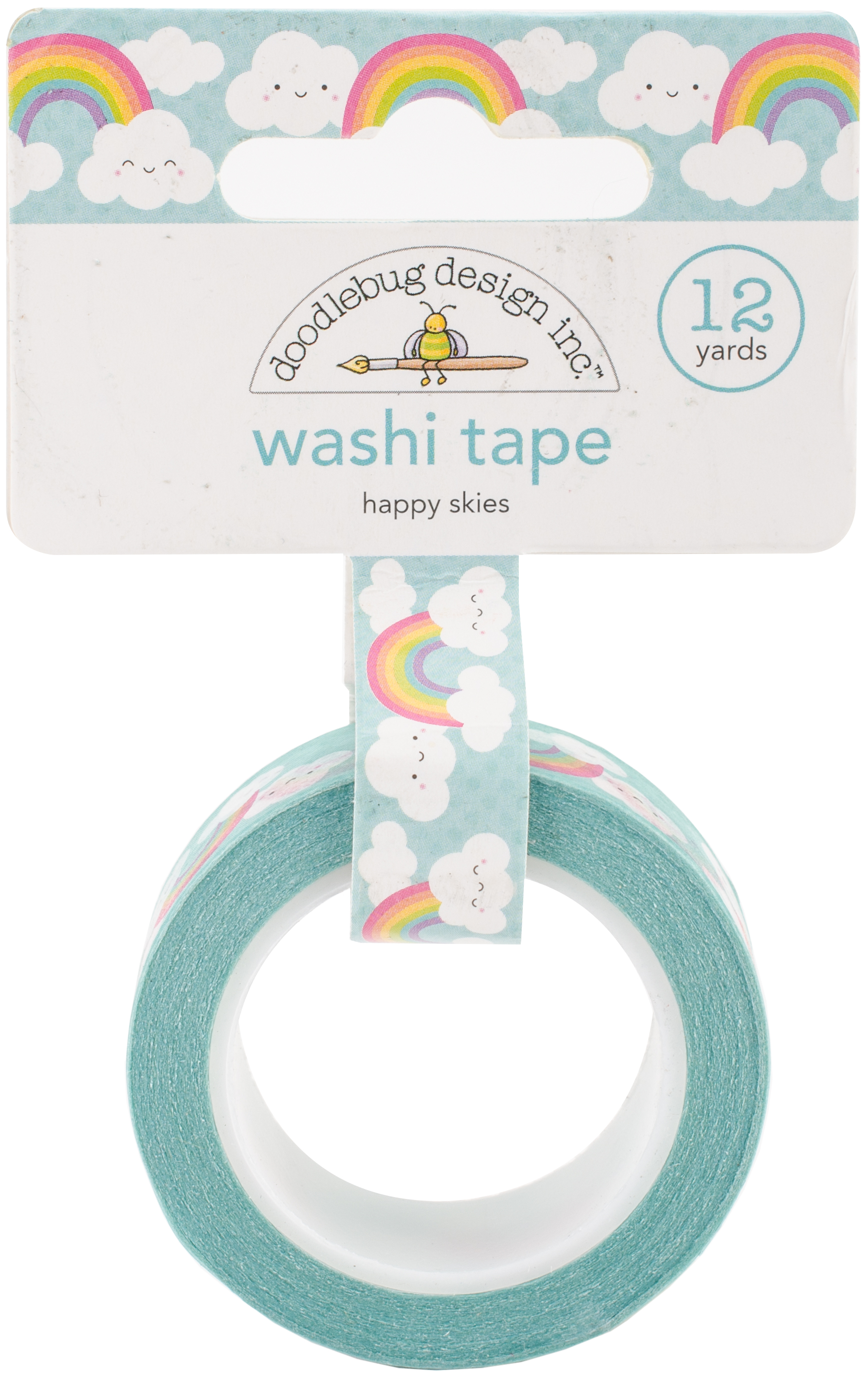 Doodlebug Washi Tape 15mmX12yd-Happy Skied, Fairy Tales